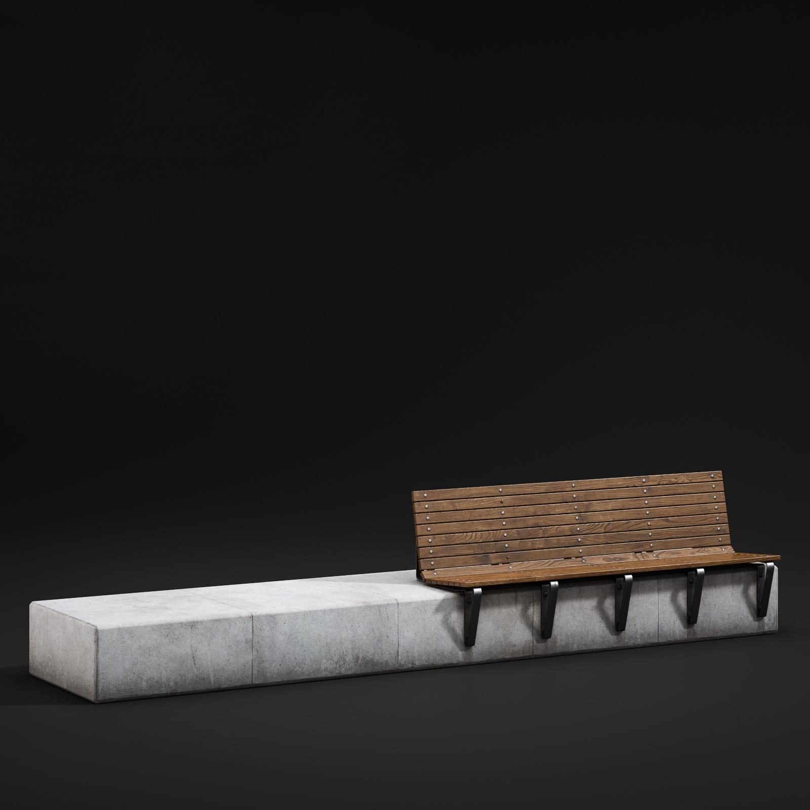 bench 15 AM211 Archmodels