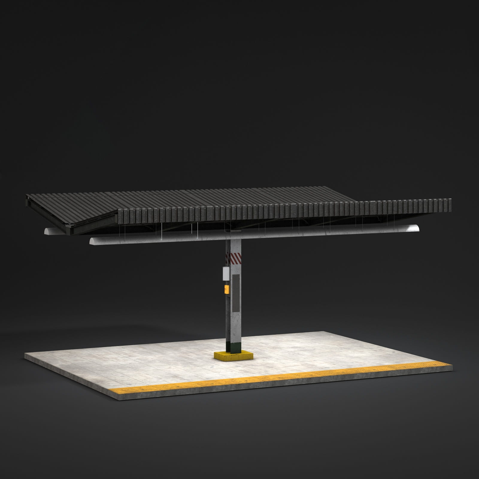 bench 16 AM211 Archmodels