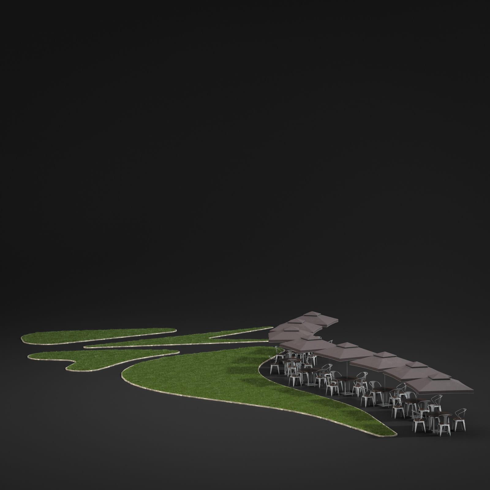 lawn 42 AM211 Archmodels