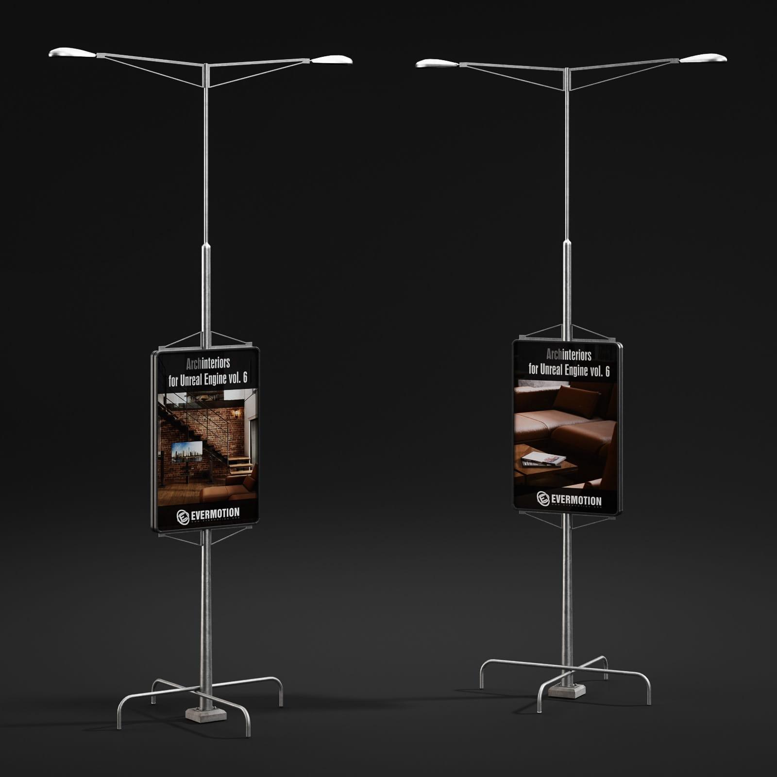 lamp posts 48 AM211 Archmodels