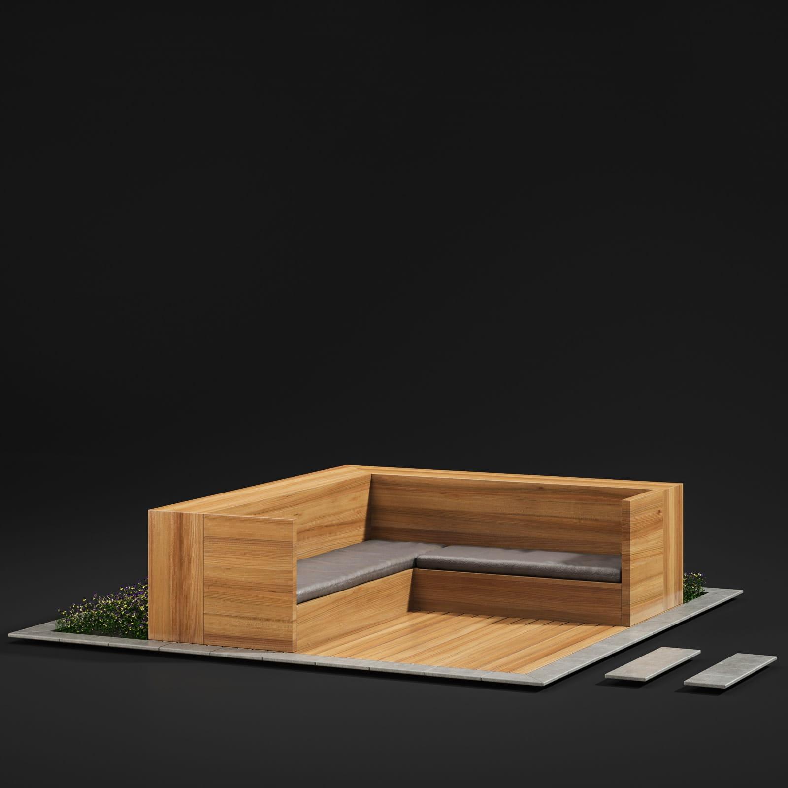 bench 51 AM211 Archmodels