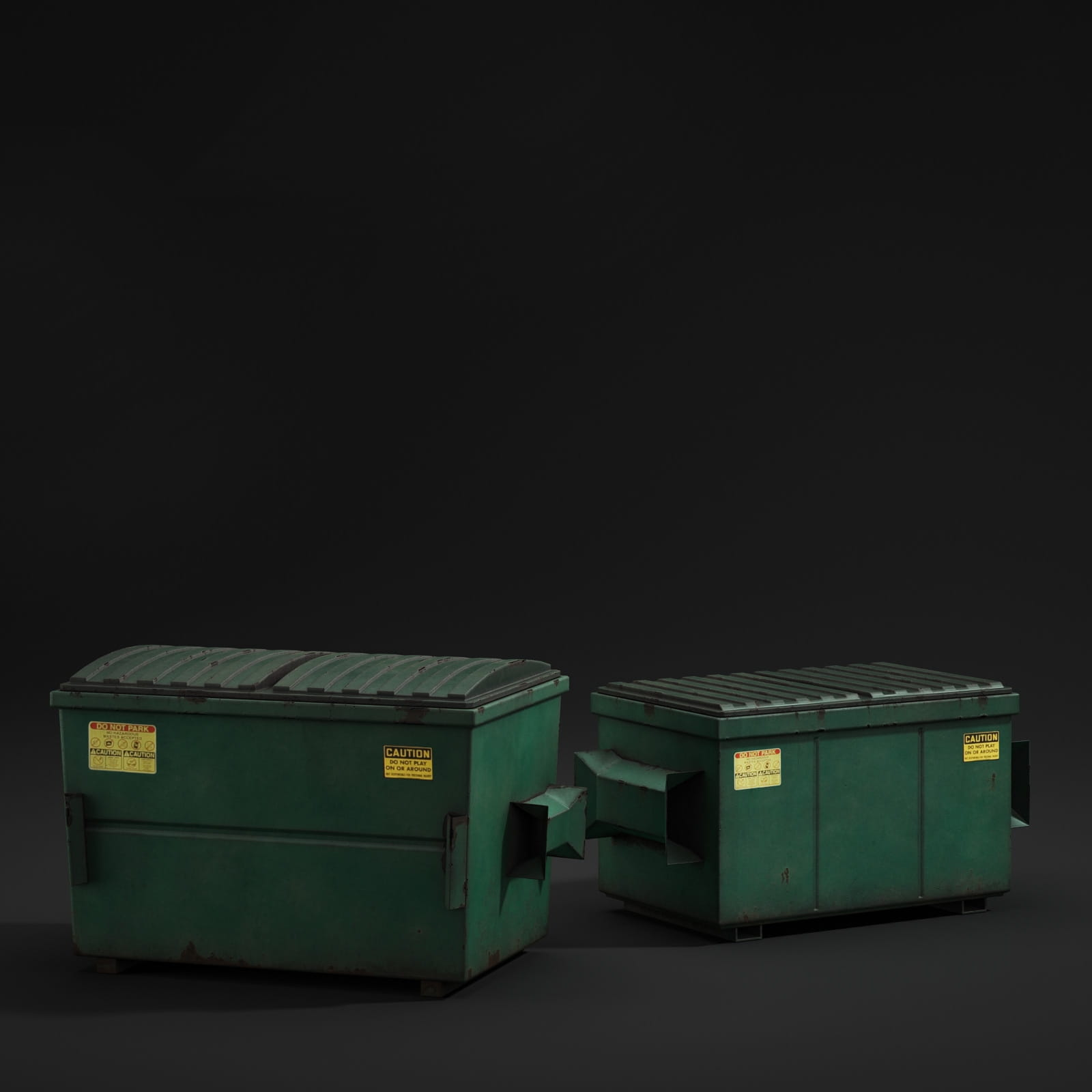 dumpsters 57 AM211 Archmodels