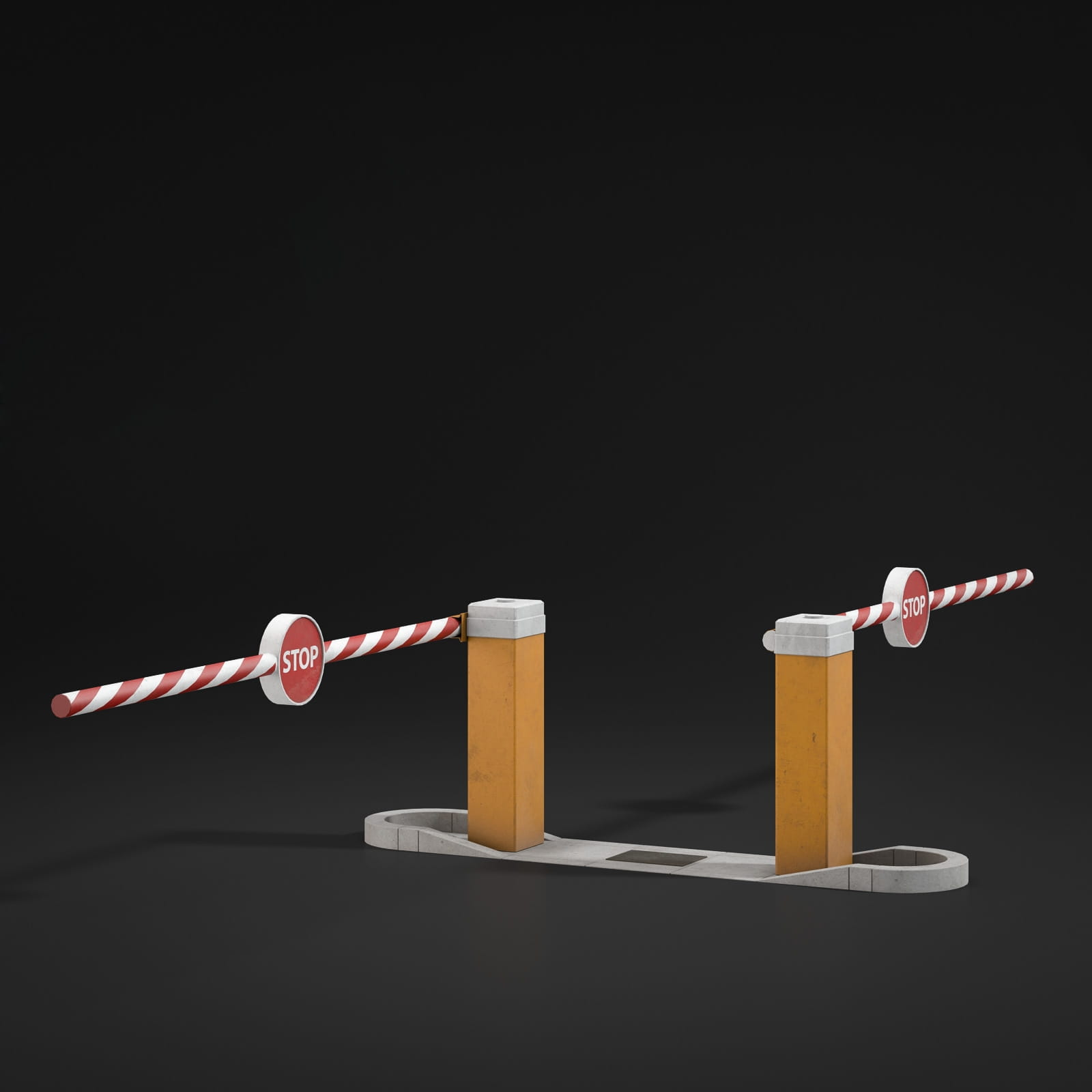 boom barriers 64 AM211 Archmodels