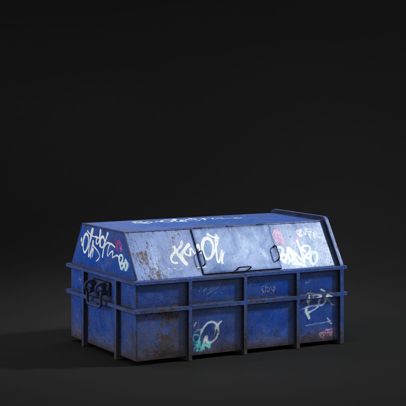dumpster 68 AM211 Archmodels