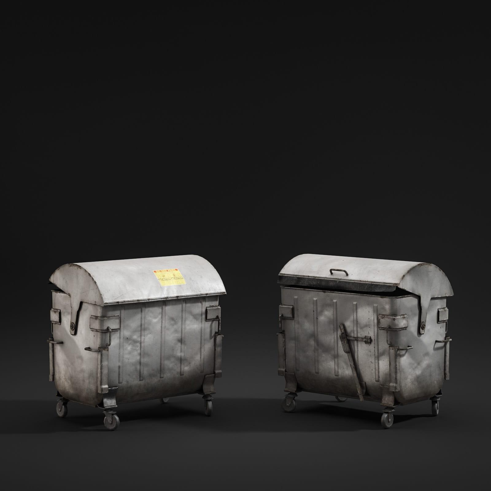 garbage bin 70 AM211 Archmodels