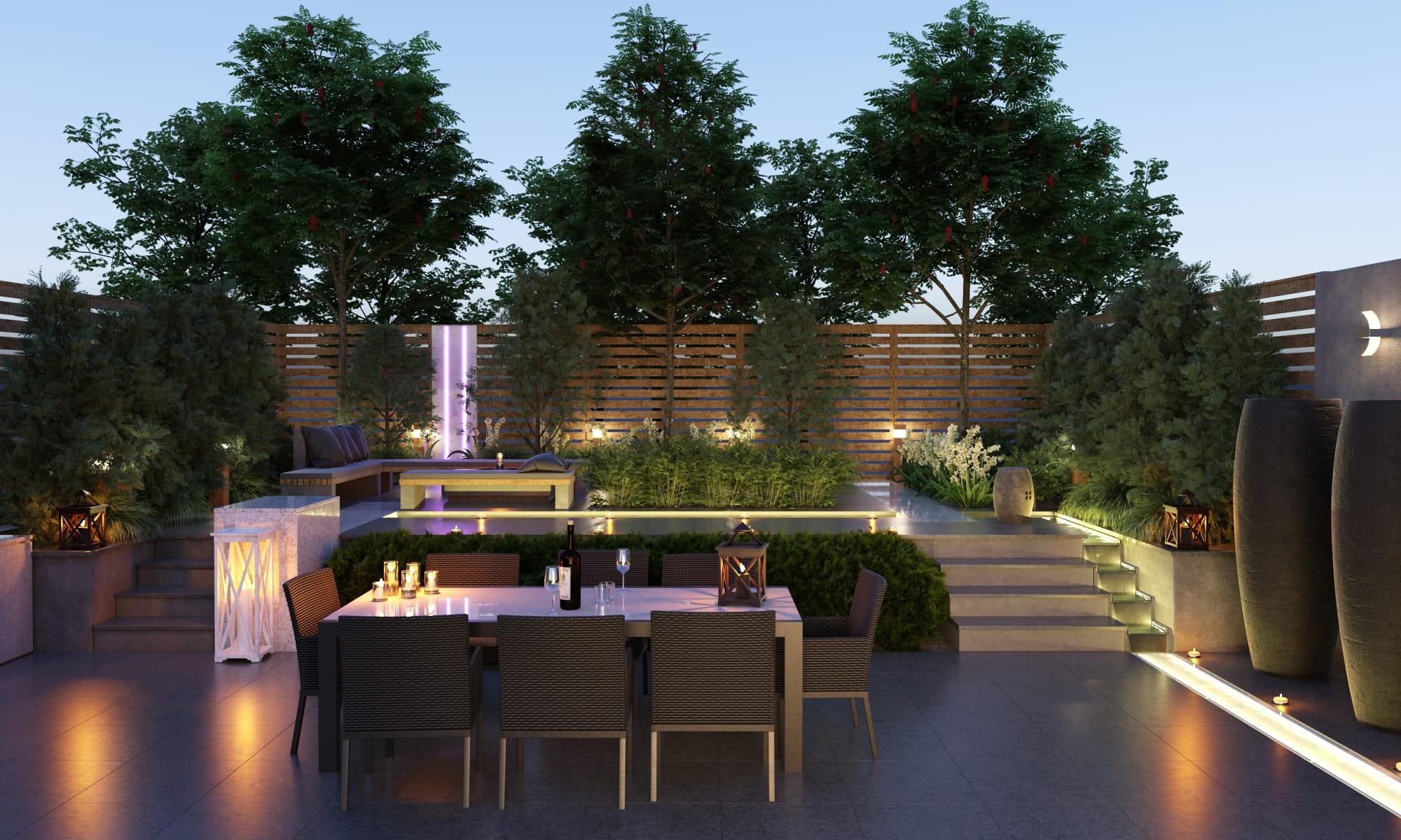 Garden 4 AM212 Archmodels