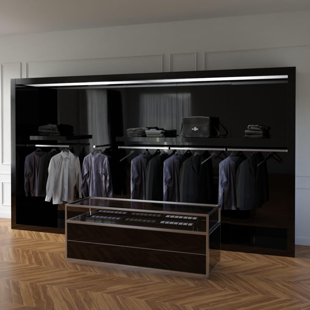 Store fixtures 3 AM216 Archmodels