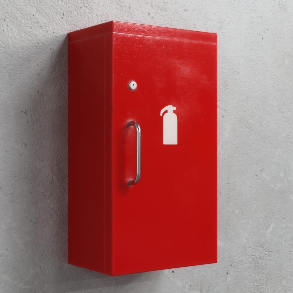 fire extinguisher box 35 AM218 Archmodels
