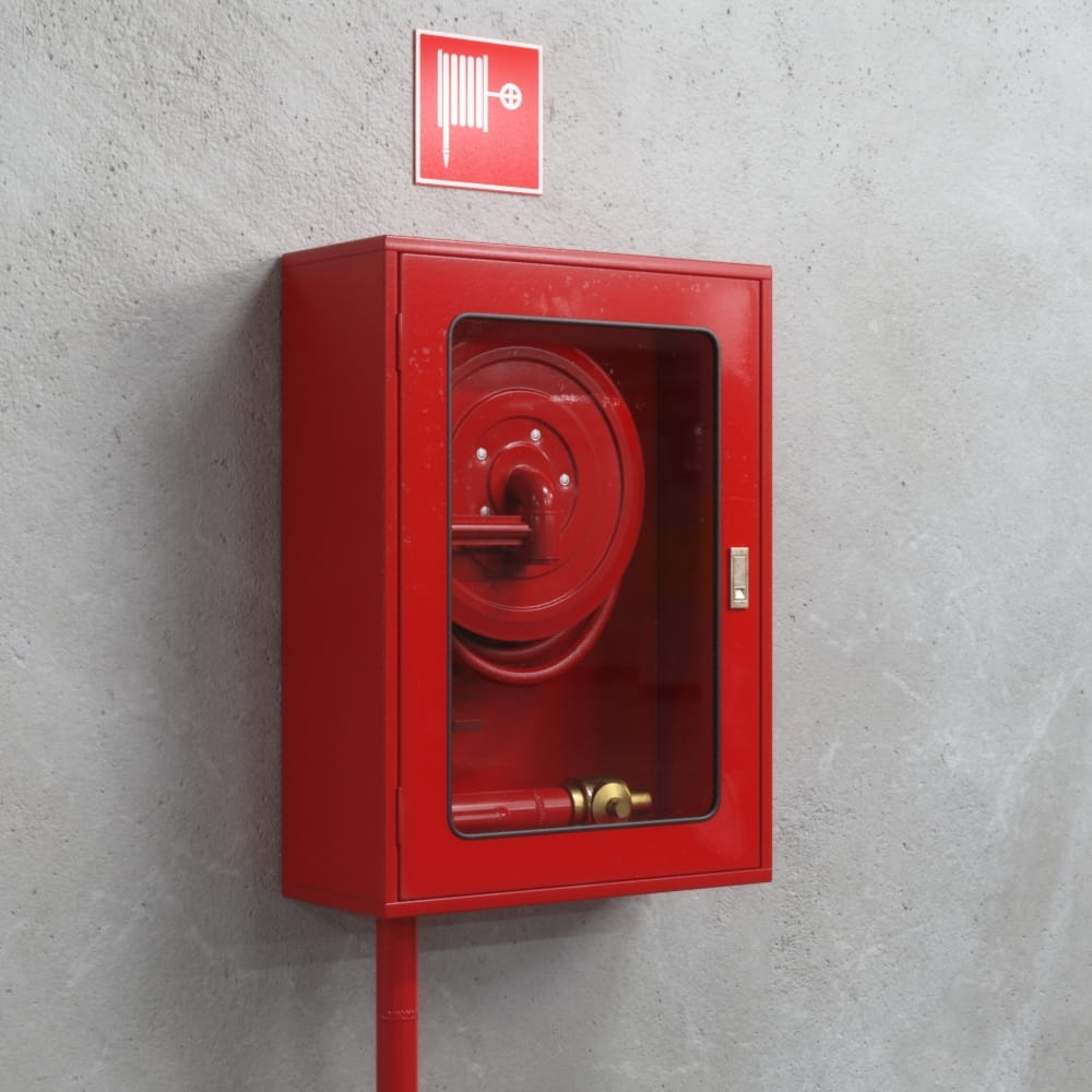 fire hose reel box 36 AM218 Archmodels