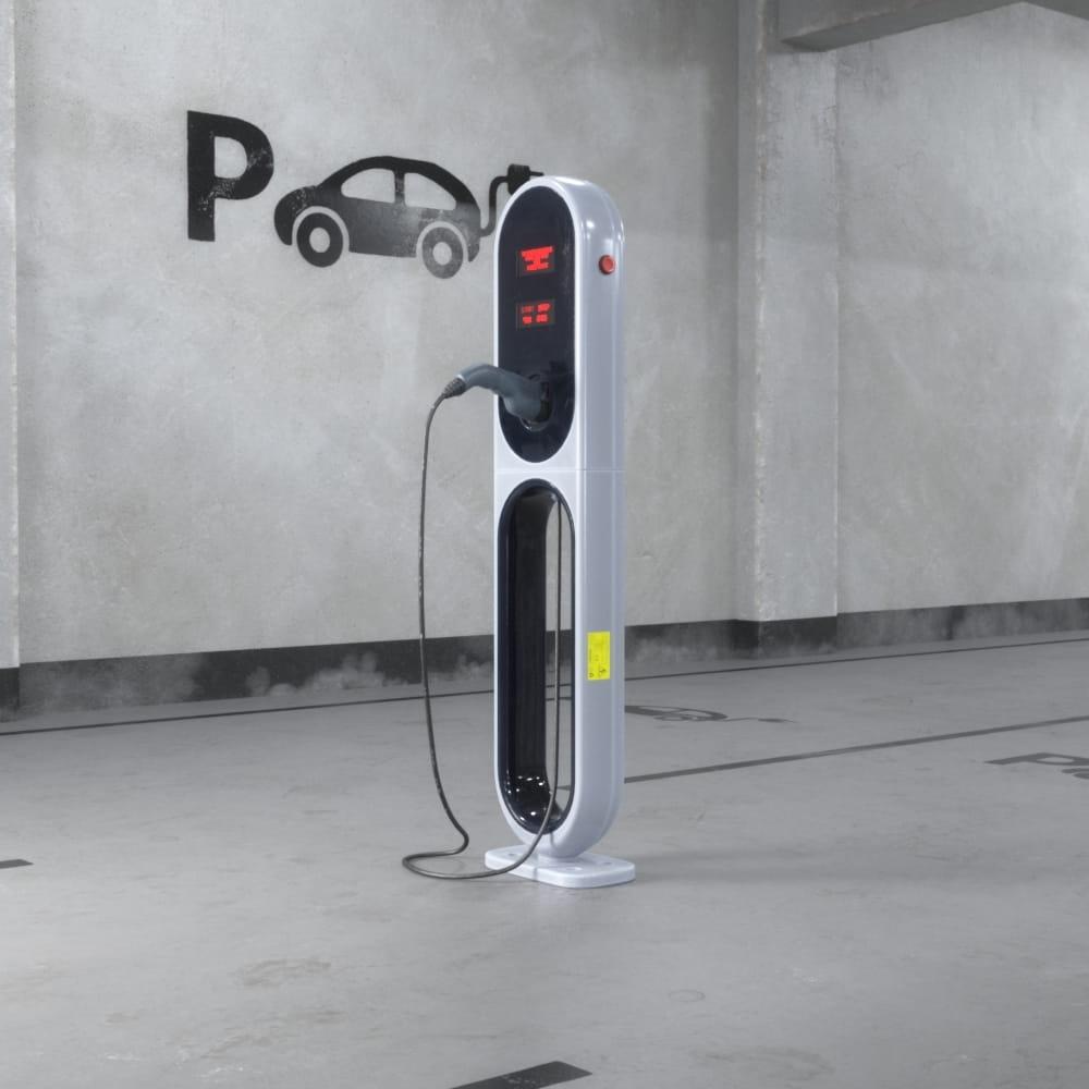car charging station 47 AM218 Archmodels