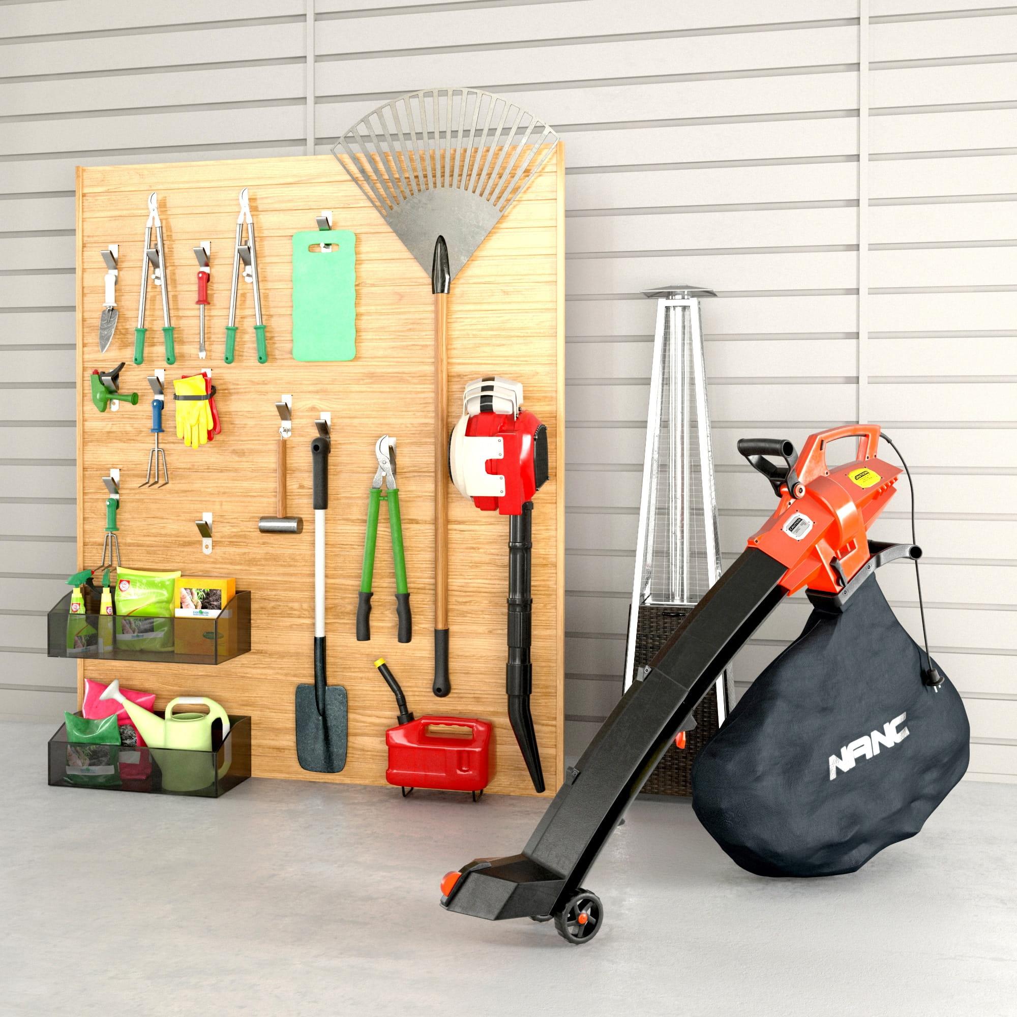 garage equipment 2 AM222 Archmodels