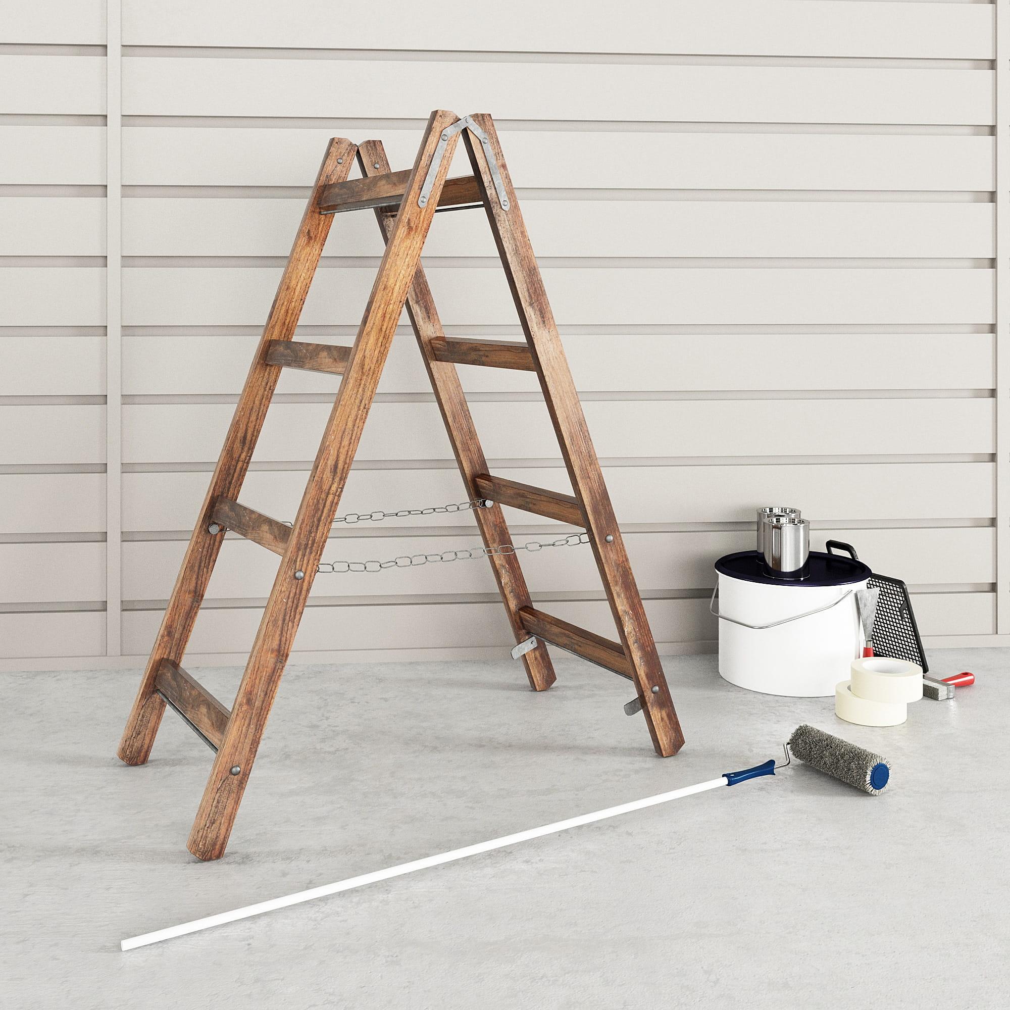 garage equipment 7 AM222 Archmodels