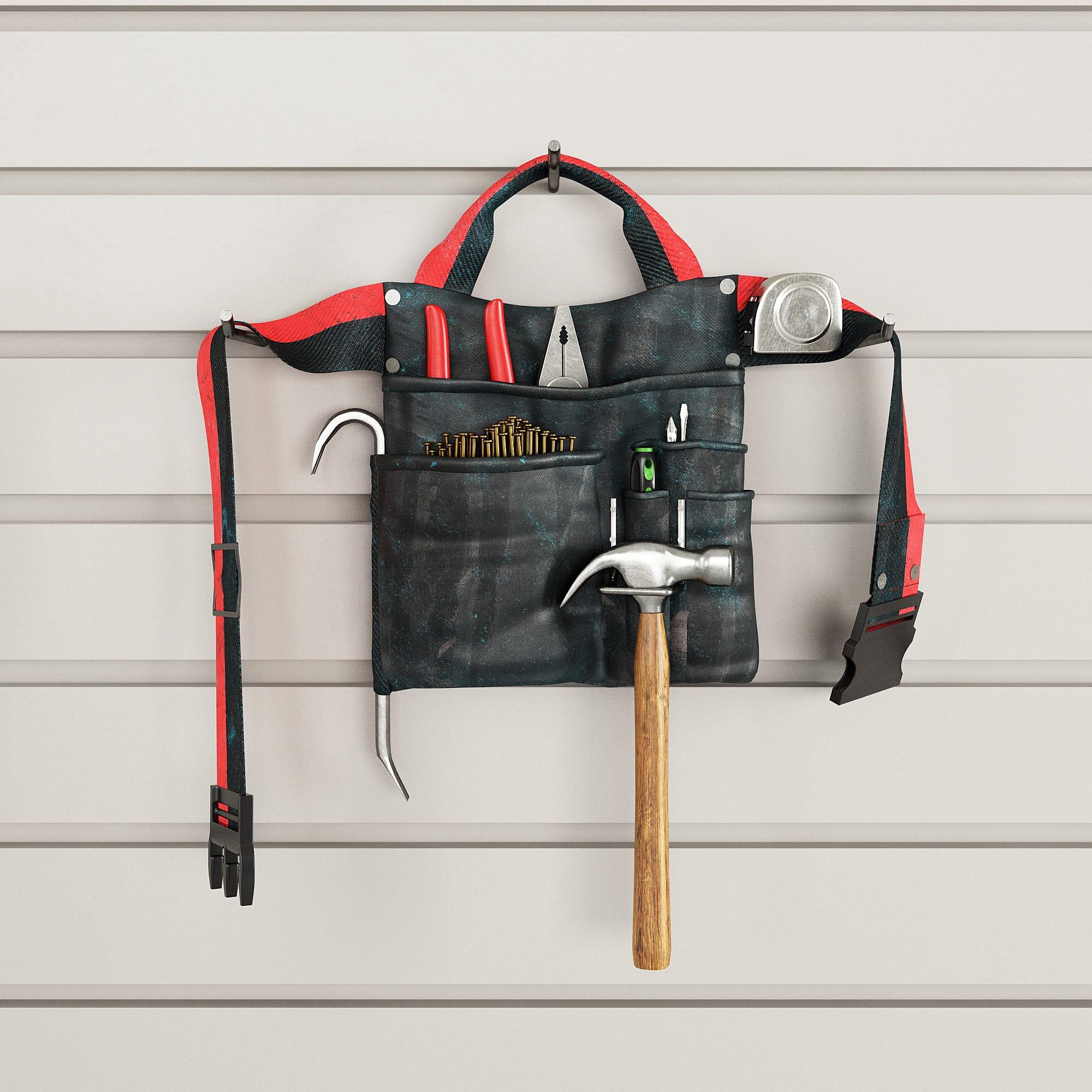 garage equipment 8 AM222 Archmodels