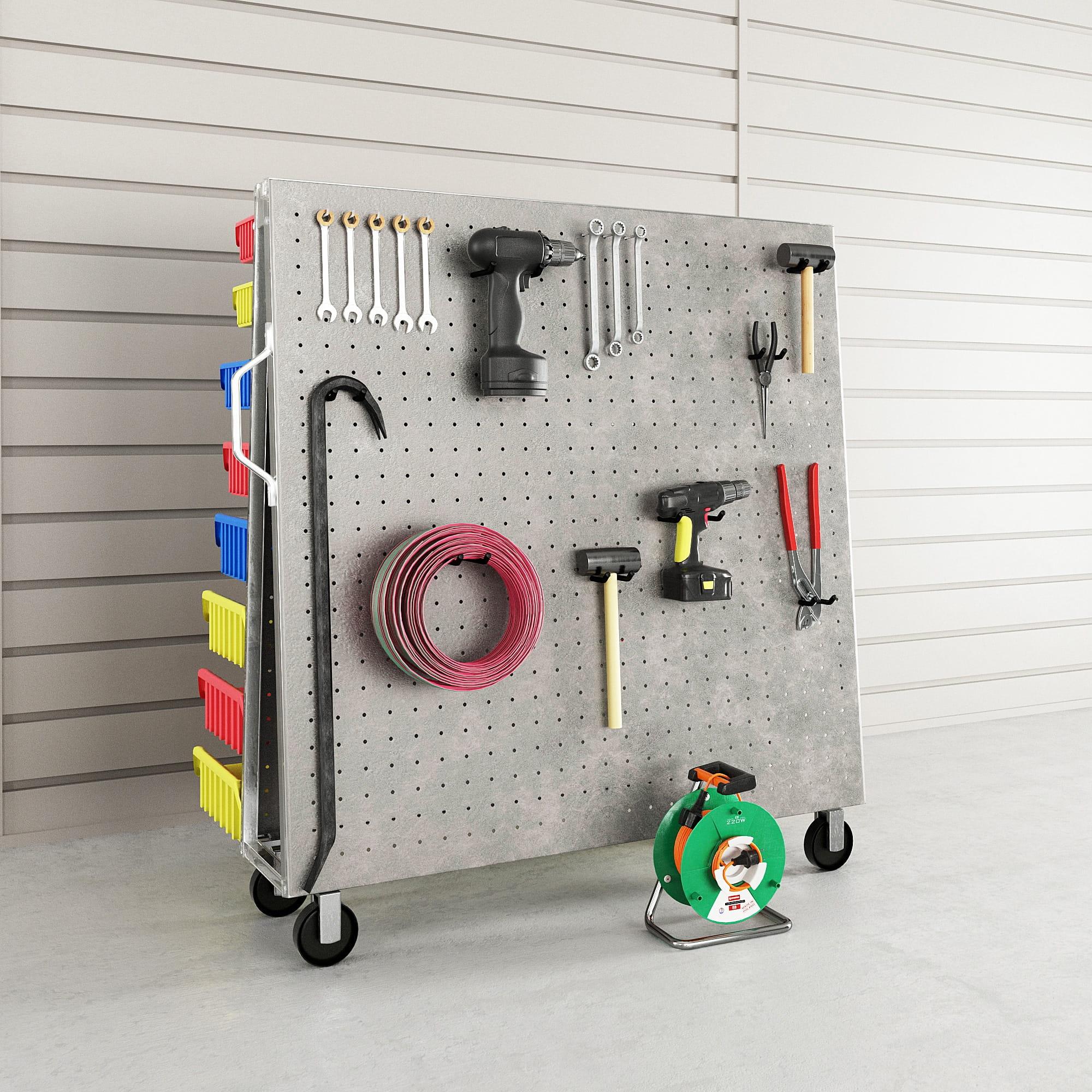 garage equipment 11 AM222 Archmodels