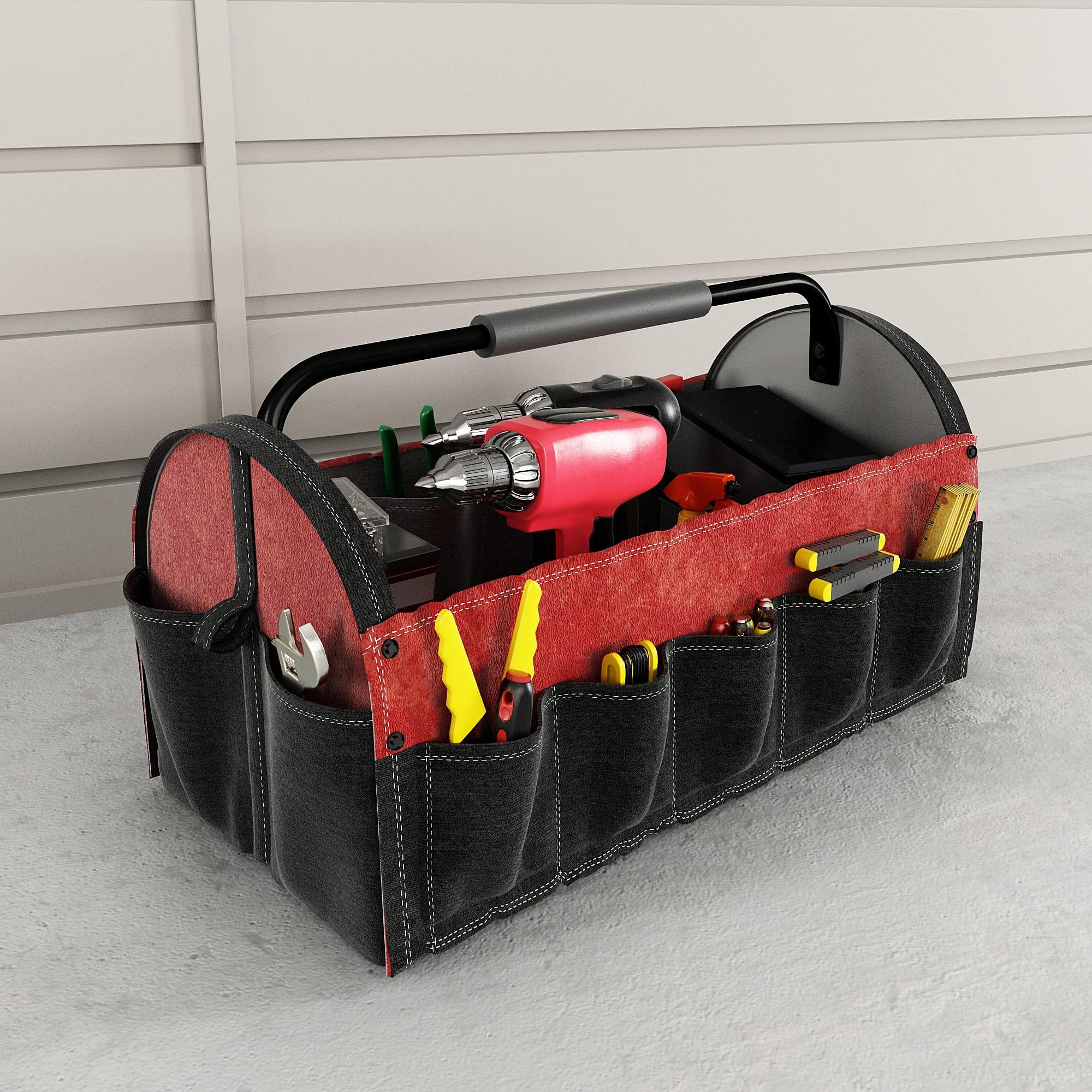 garage equipment 14 AM222 Archmodels