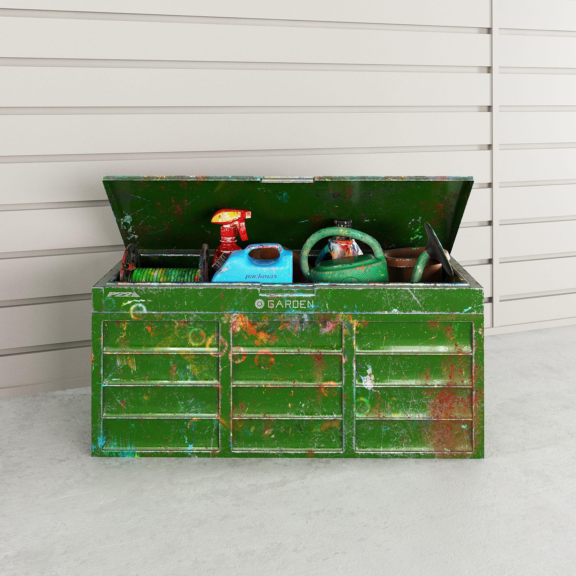 garage equipment 33 AM222 Archmodels