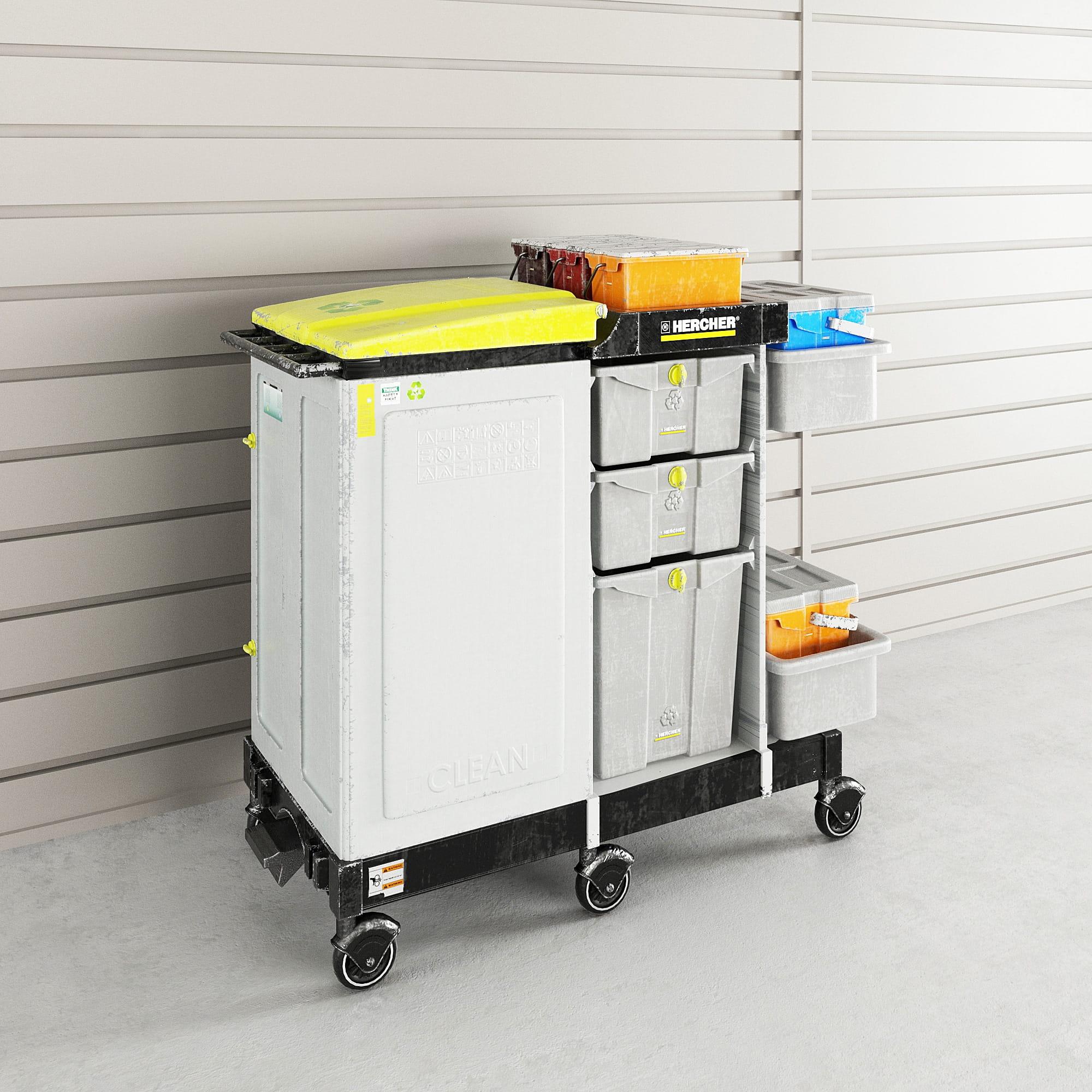 garage equipment 39 AM222 Archmodels