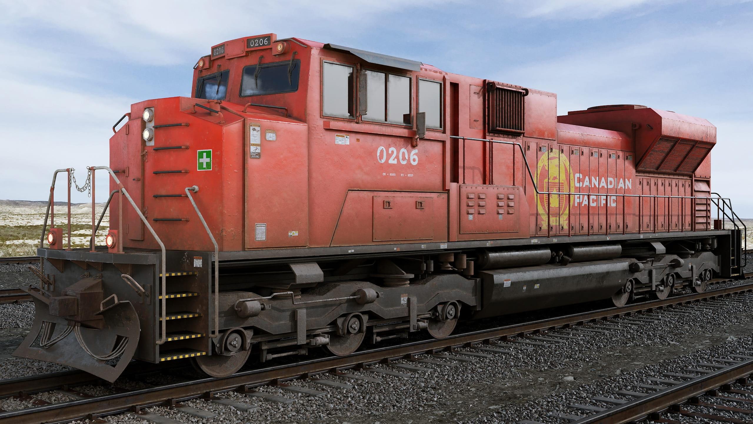 locomotive 1 AM223 Archmodels
