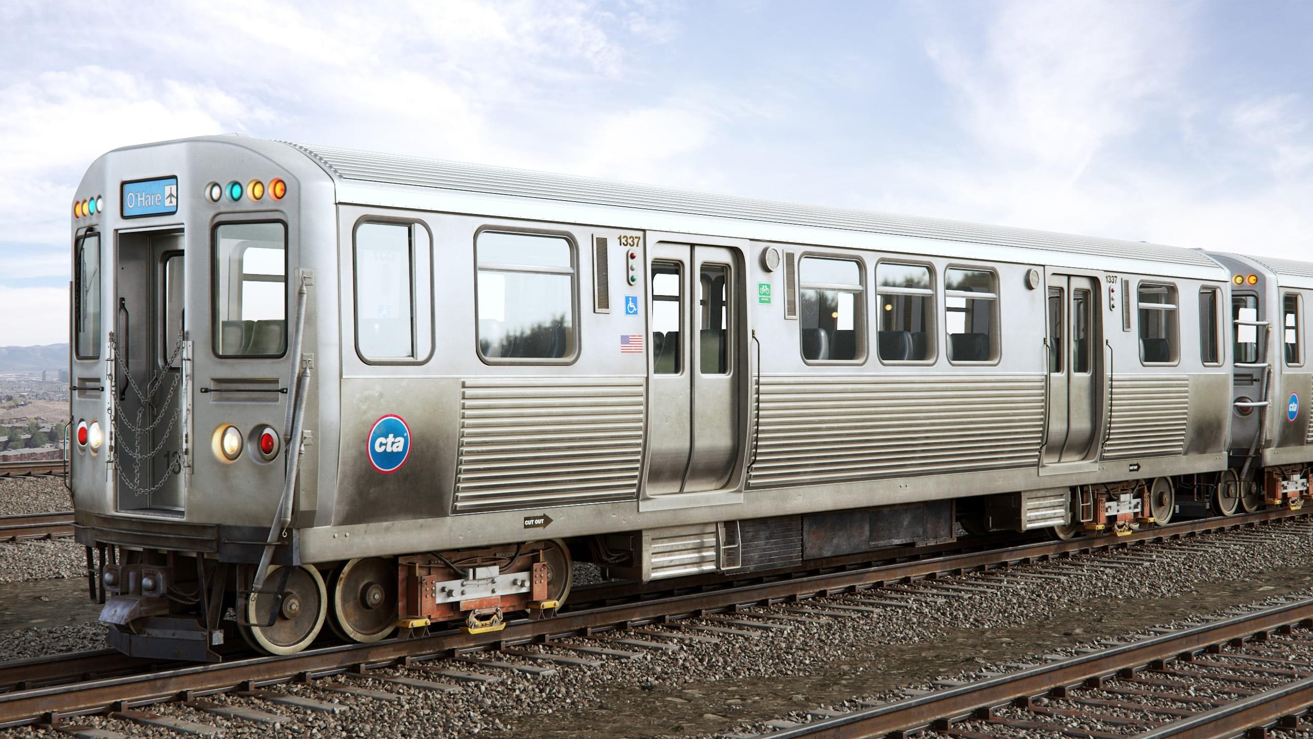 train 6 AM223 Archmodels