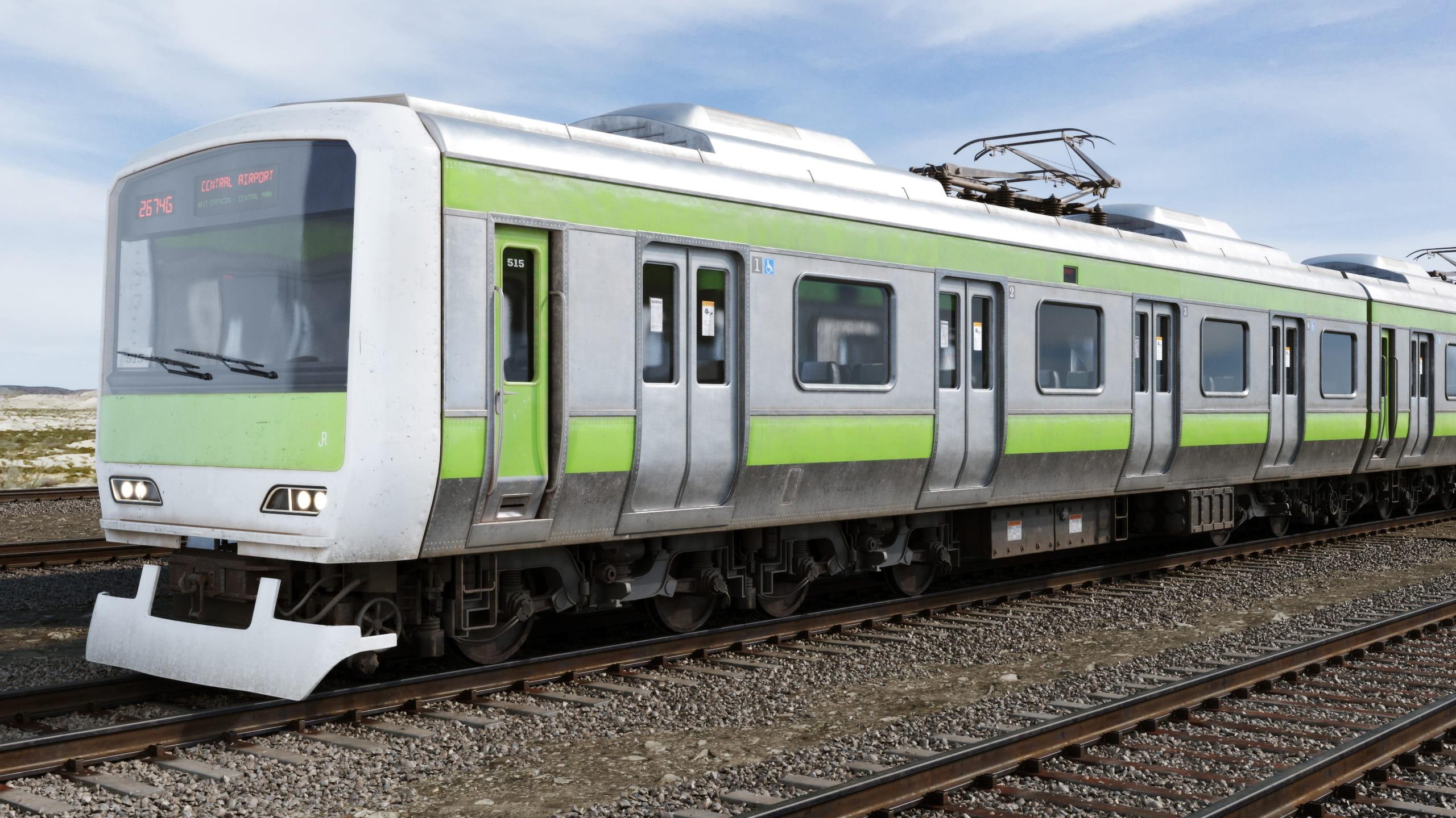 train 7 AM223 Archmodels