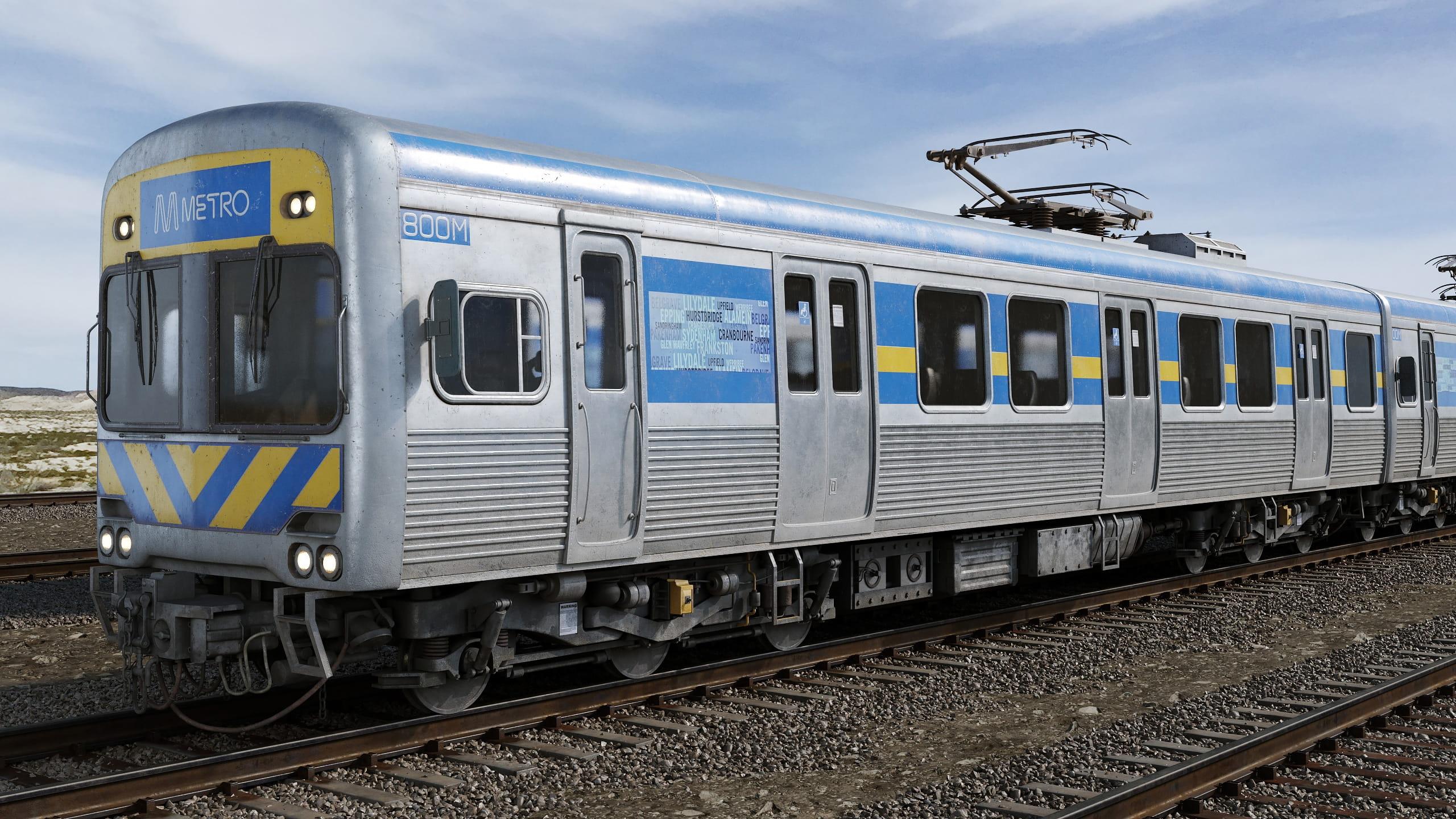 train 9 AM223 Archmodels