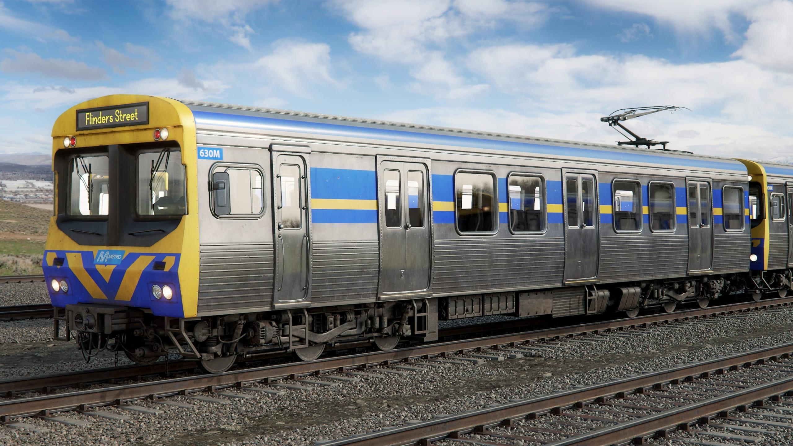 train 10 AM223 Archmodels
