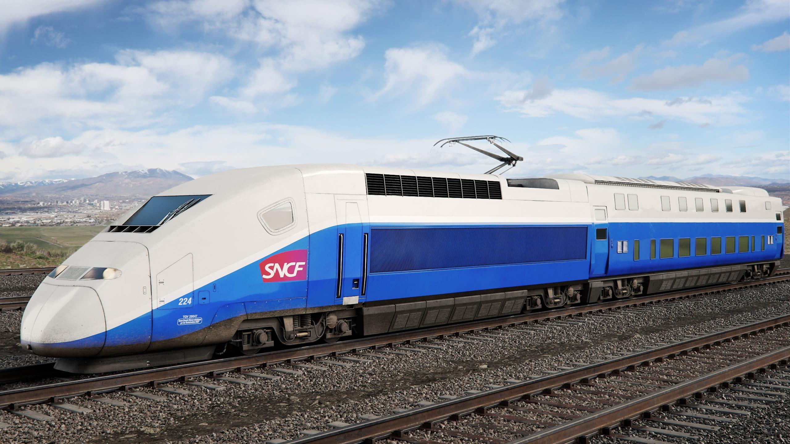 train 14 AM223 Archmodels
