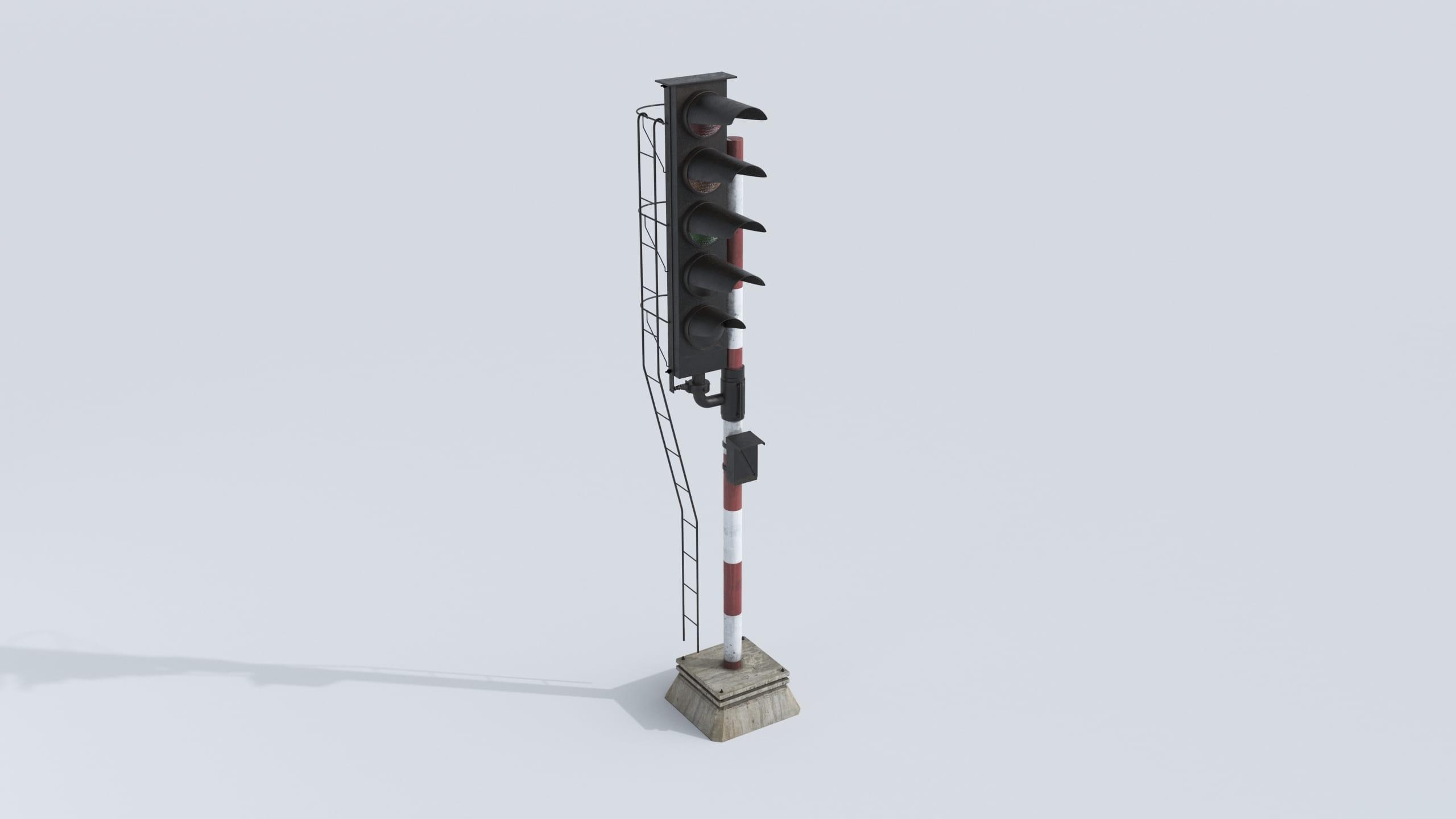 railway signal 16 AM223 Archmodels