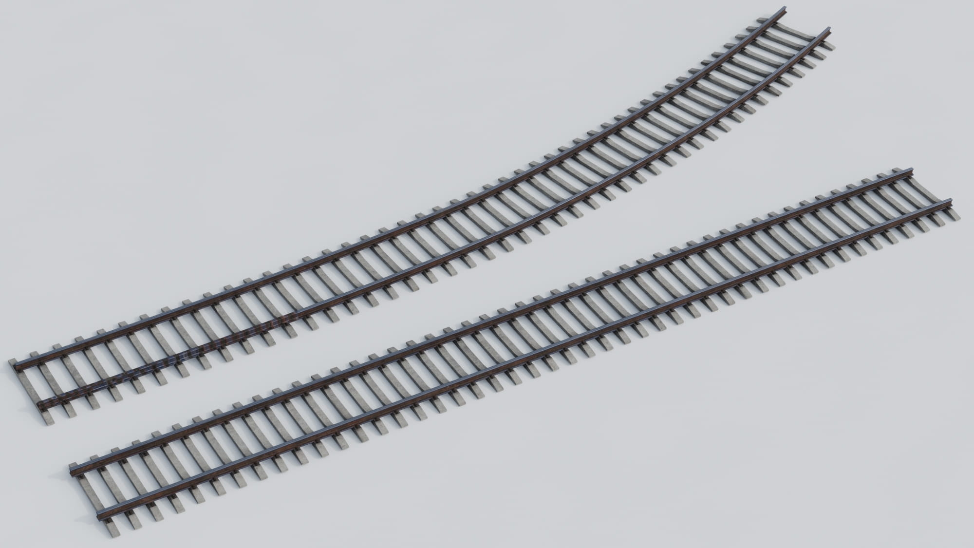 railway tracks 23 AM223 Archmodels