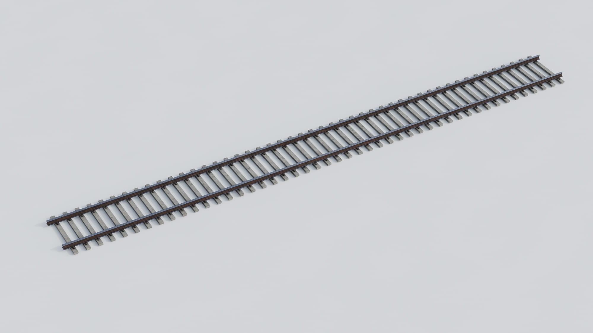 railway tracks 25 AM223 Archmodels