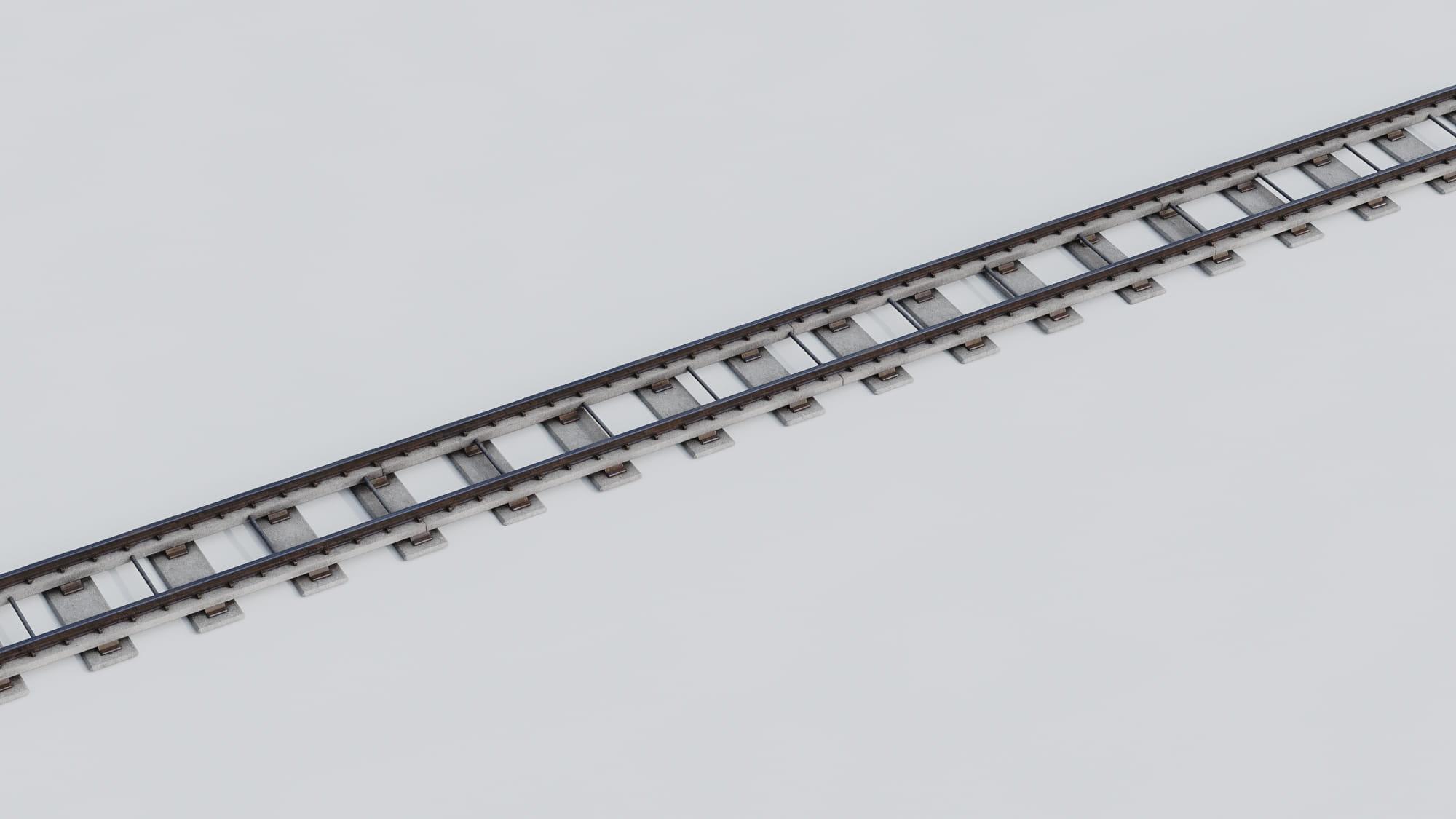 railway tracks 26 AM223 Archmodels