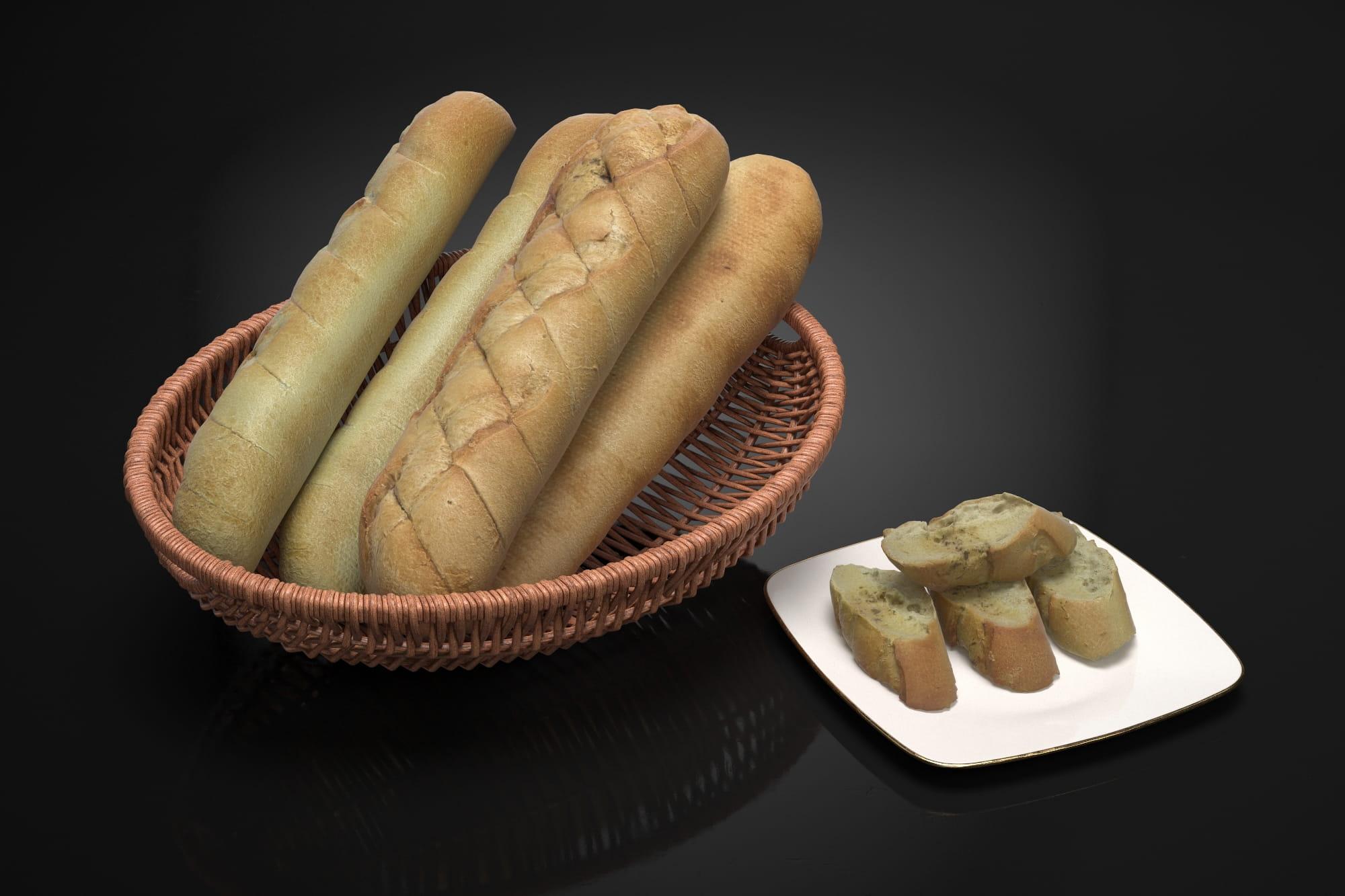 Bread 4 AM224 Archmodels