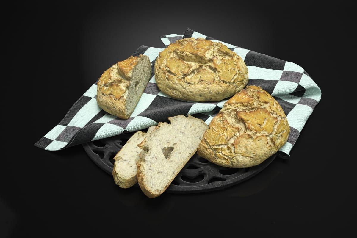 Bread 8 AM224 Archmodels