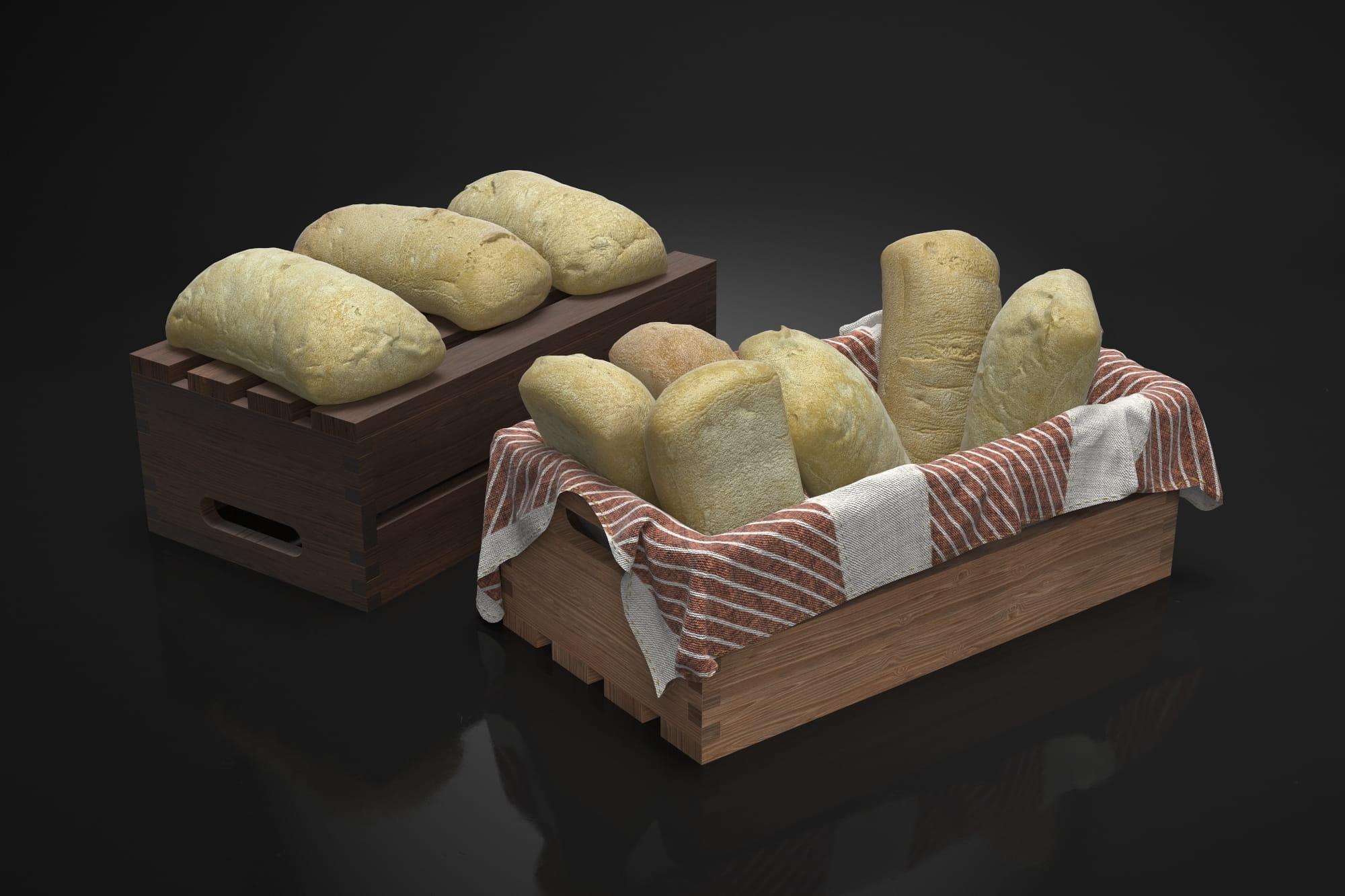 Bread 9 AM224 Archmodels
