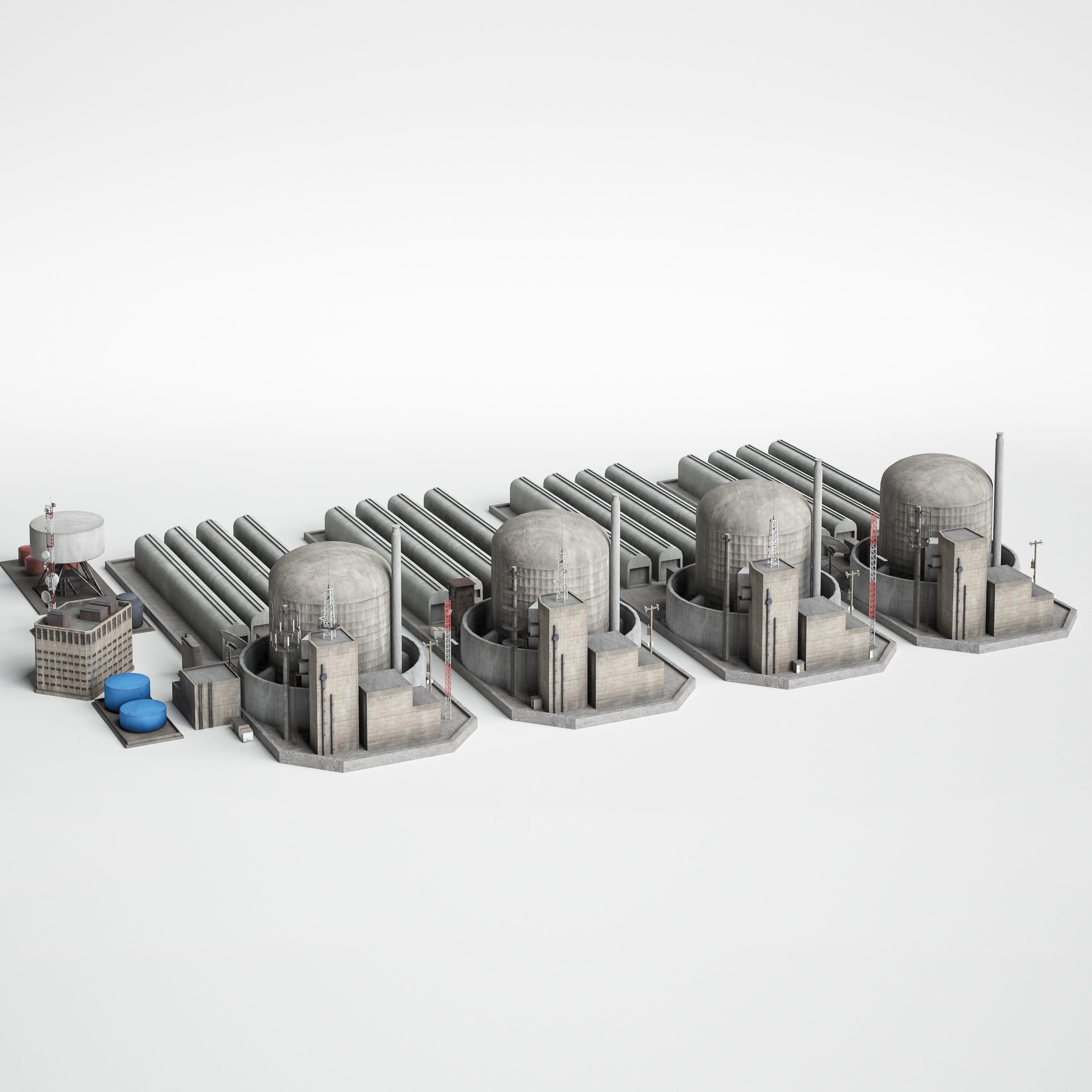 power station 17 AM227 Archmodels