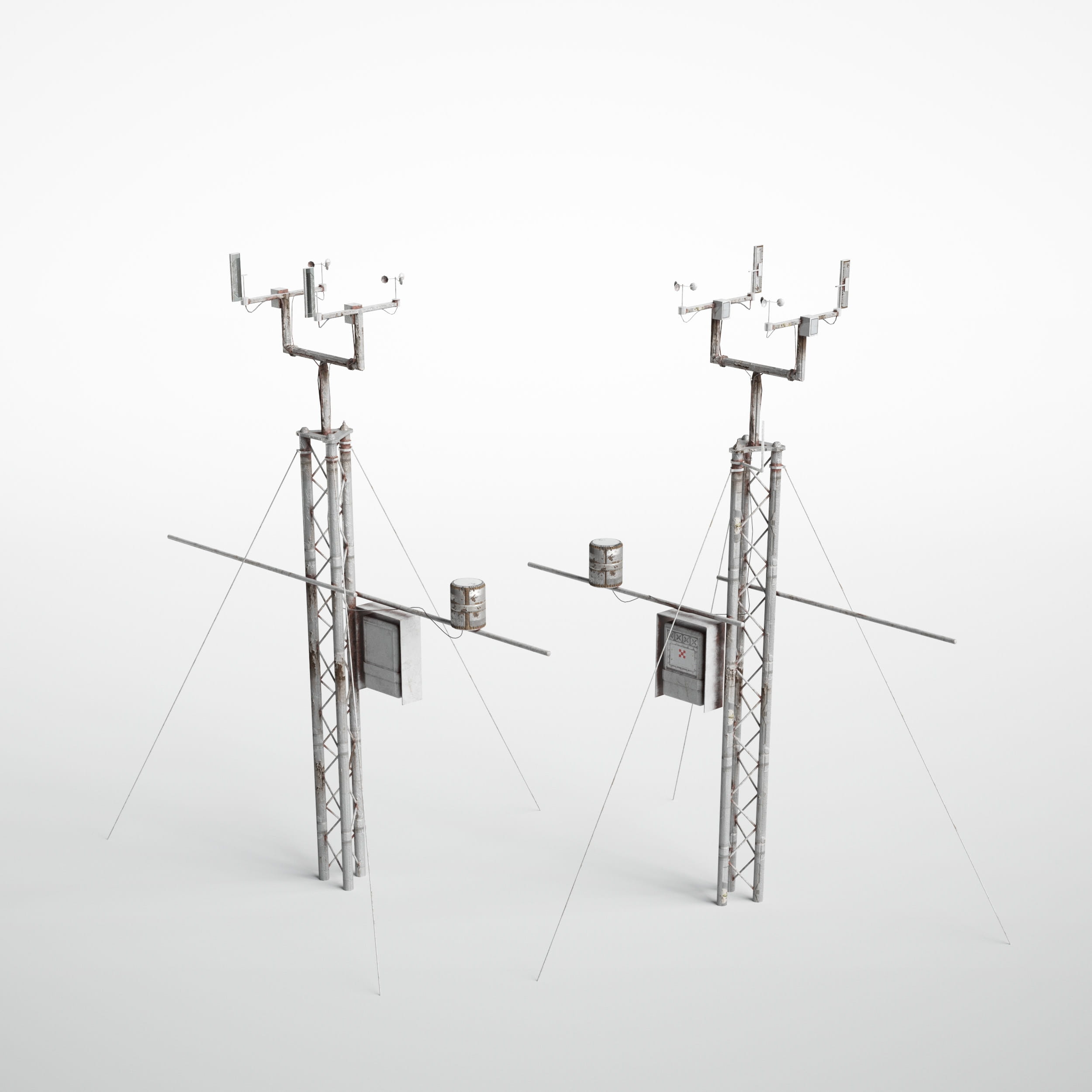 automatic weather station 33 AM227 Archmodels