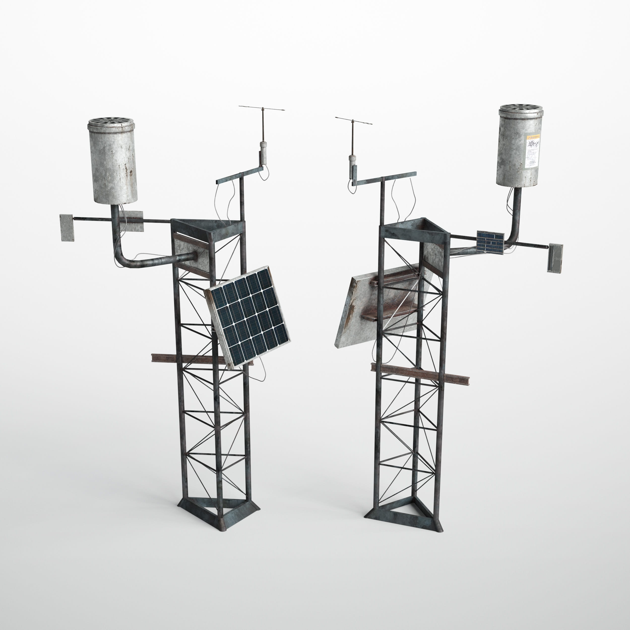 automatic weather station 34 AM227 Archmodels
