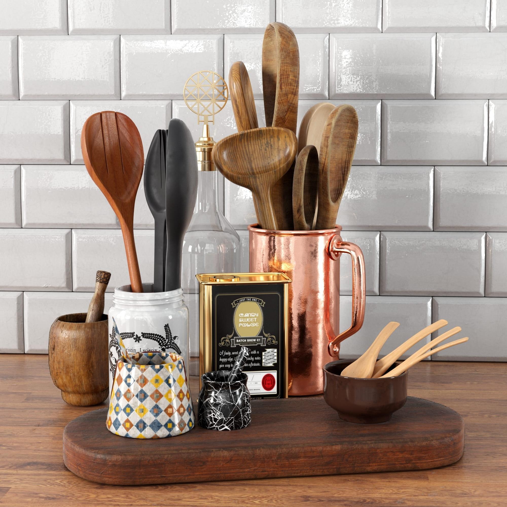 kitchen props 3 AM231 Archmodels