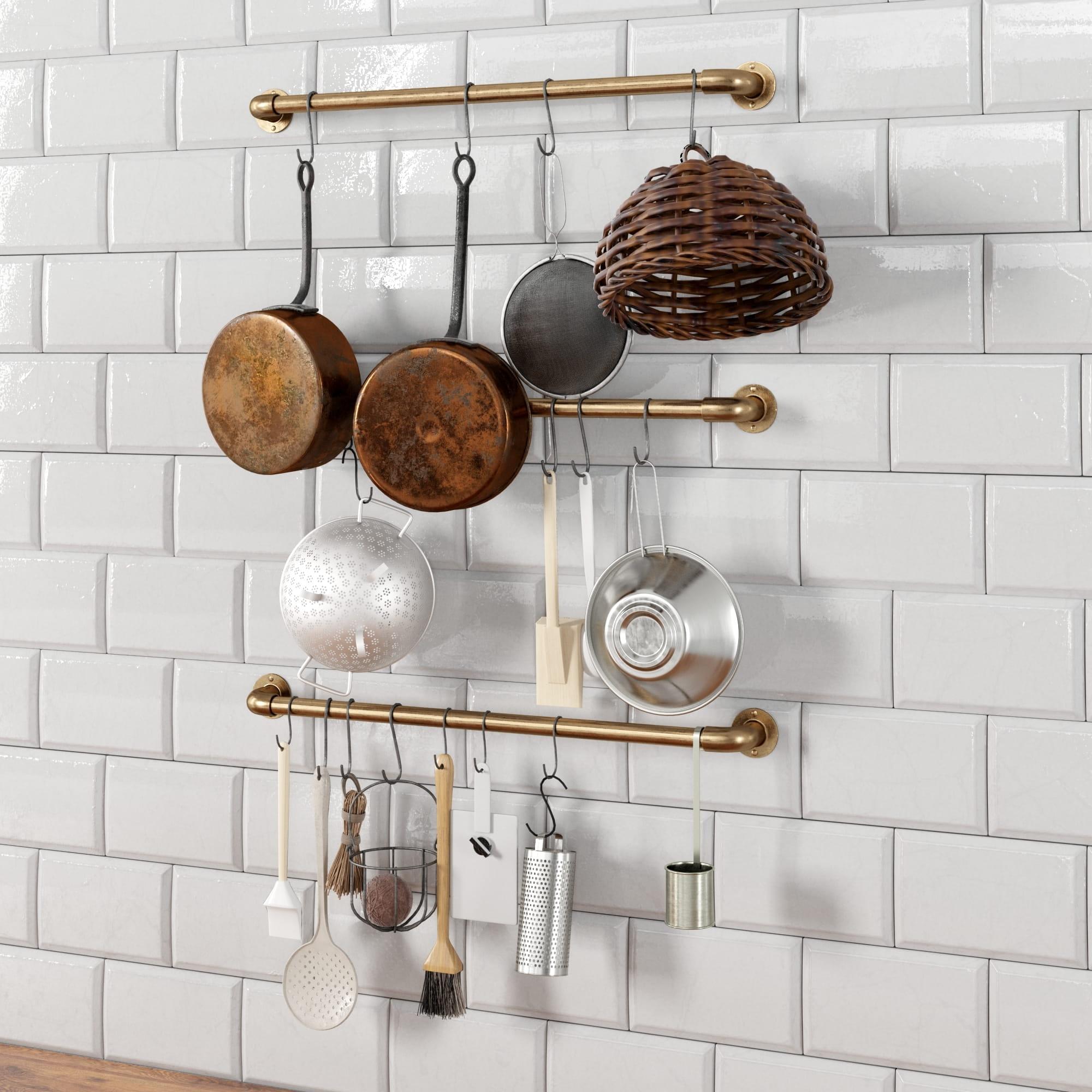 kitchen props 13 AM231 Archmodels