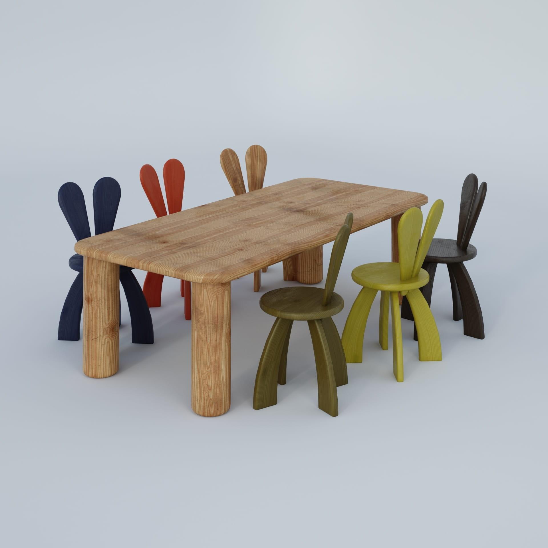 furniture 6 AM244 Archmodels