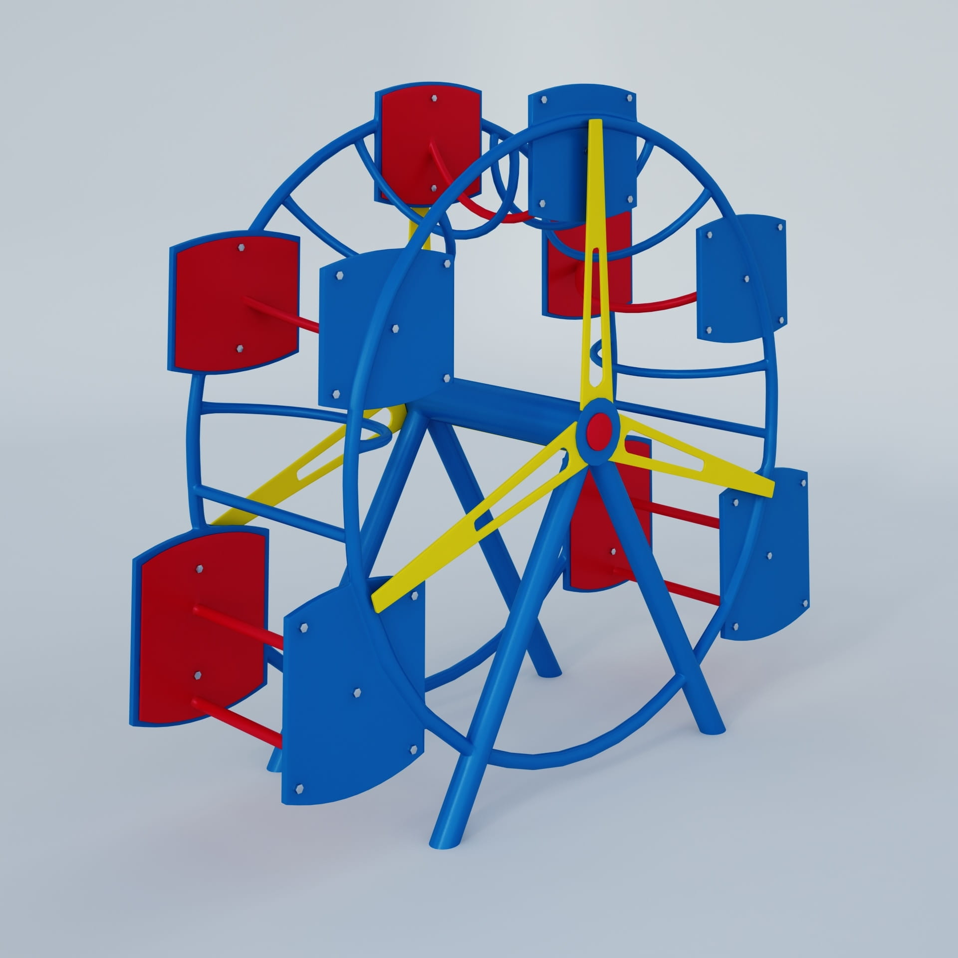 playground equipment 24 AM244 Archmodels