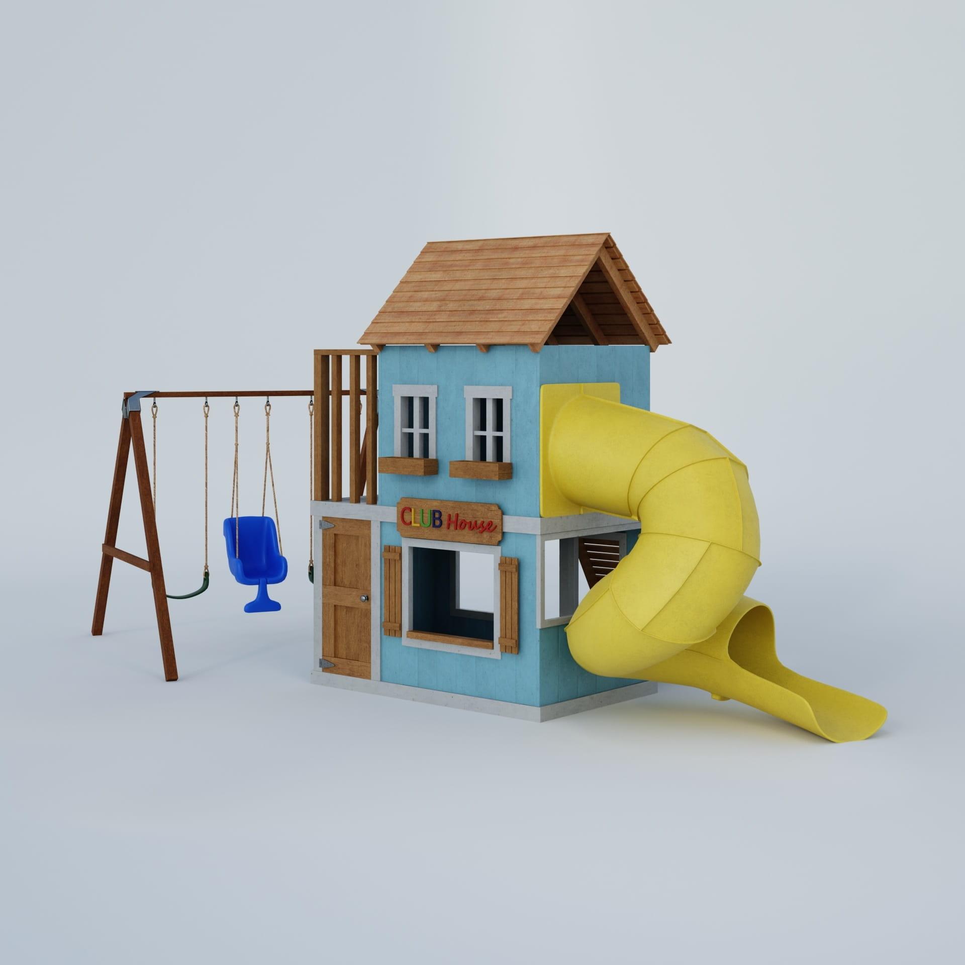playground equipment 32 AM244 Archmodels