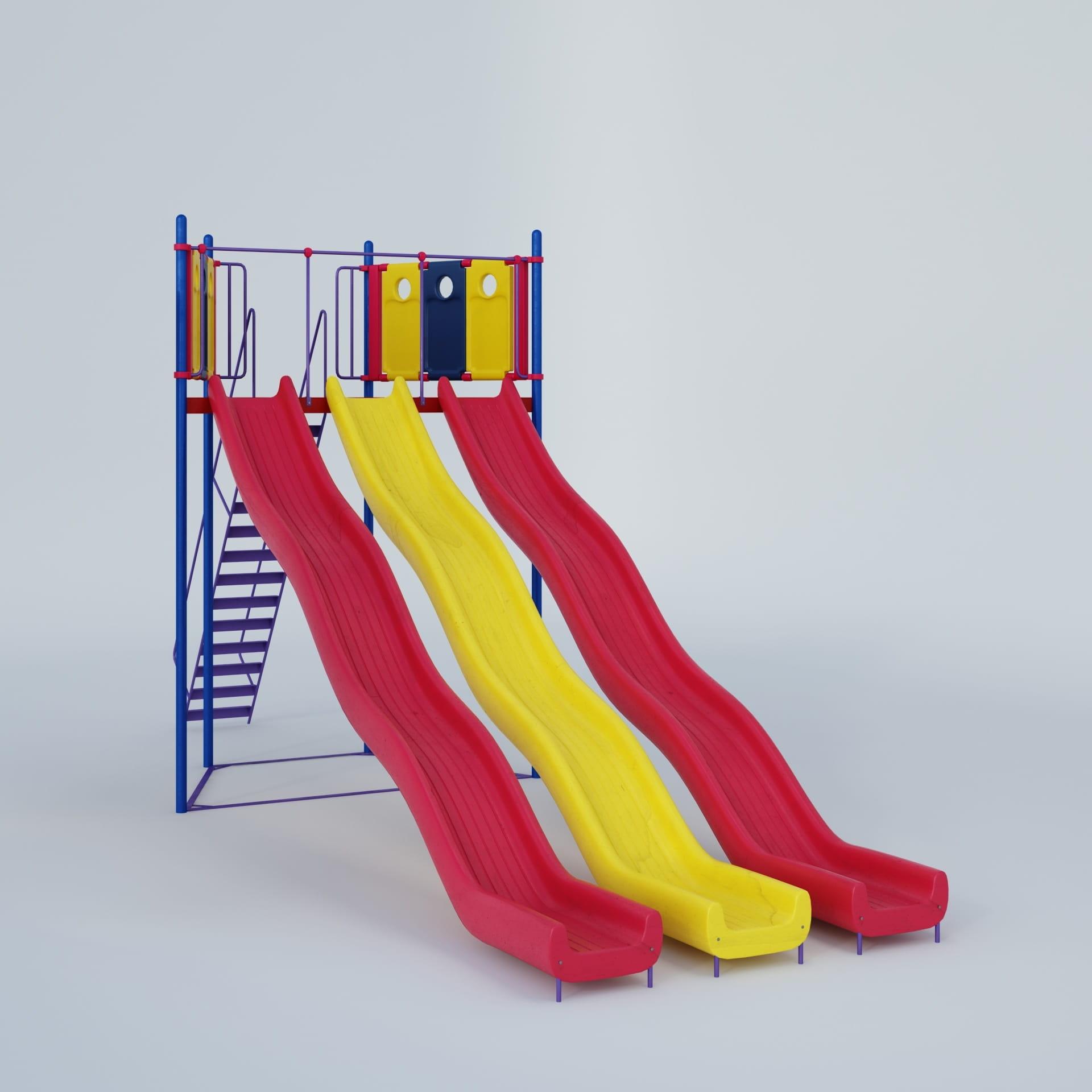 playground equipment 33 AM244 Archmodels