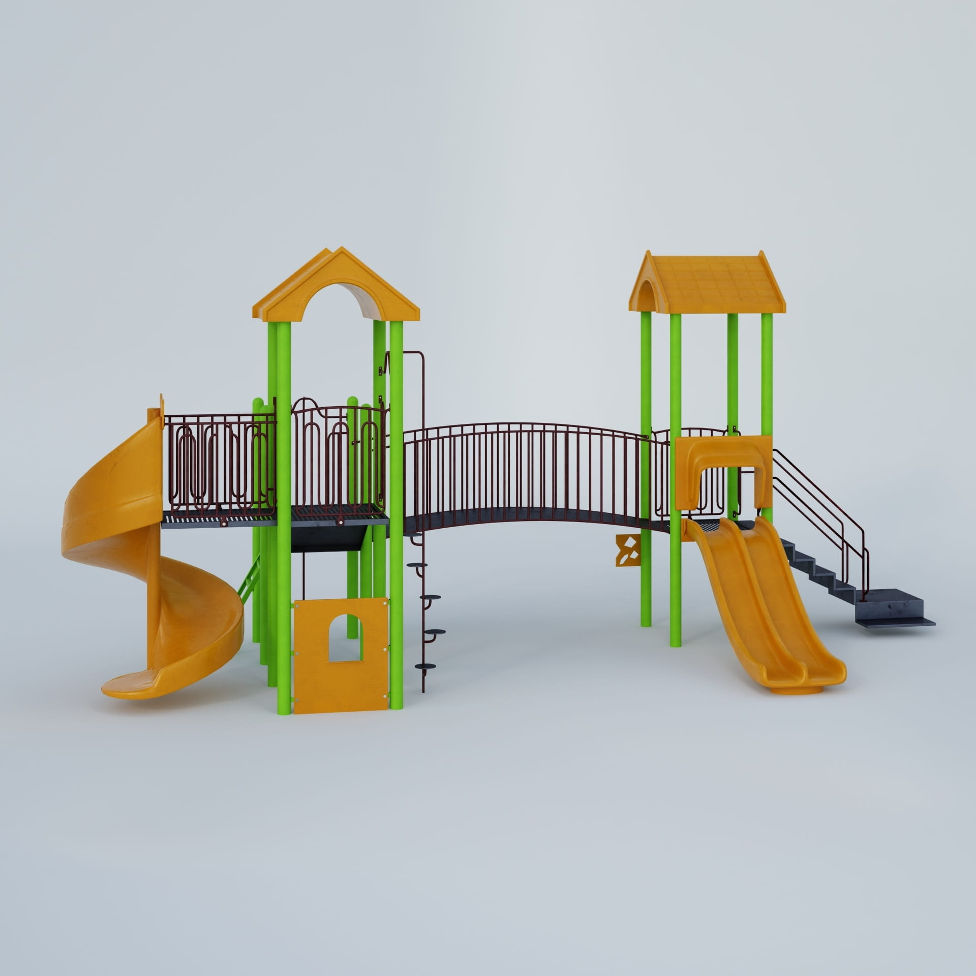 playground equipment 37 AM244 Archmodels
