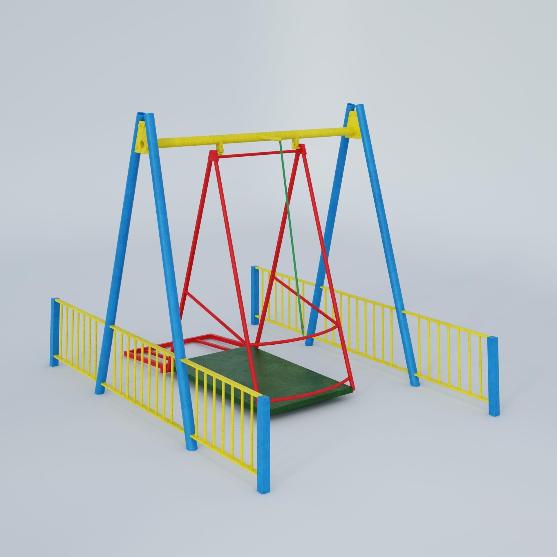 playground equipment 39 AM244 Archmodels