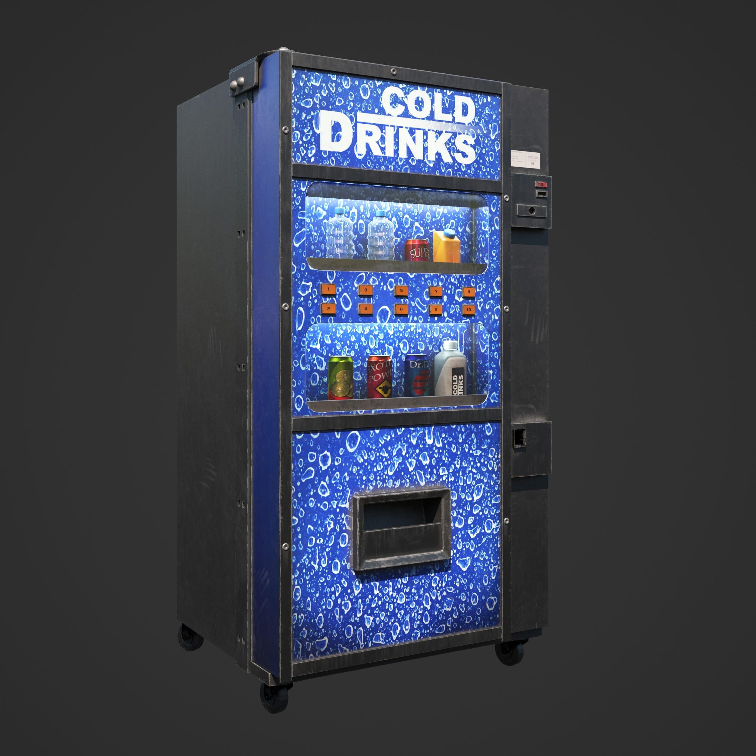 vending machine 17 AM246