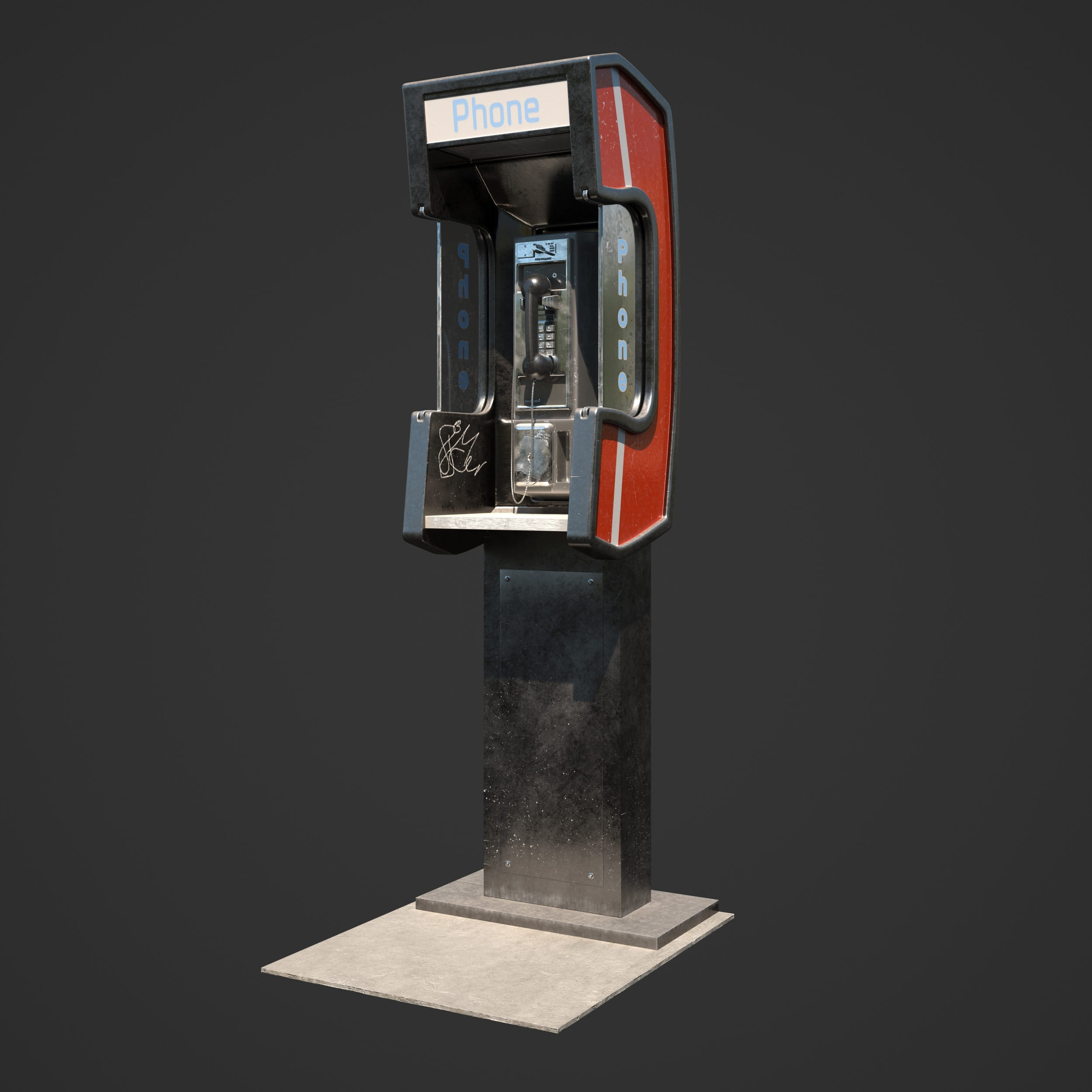 telephone booth 20 AM246