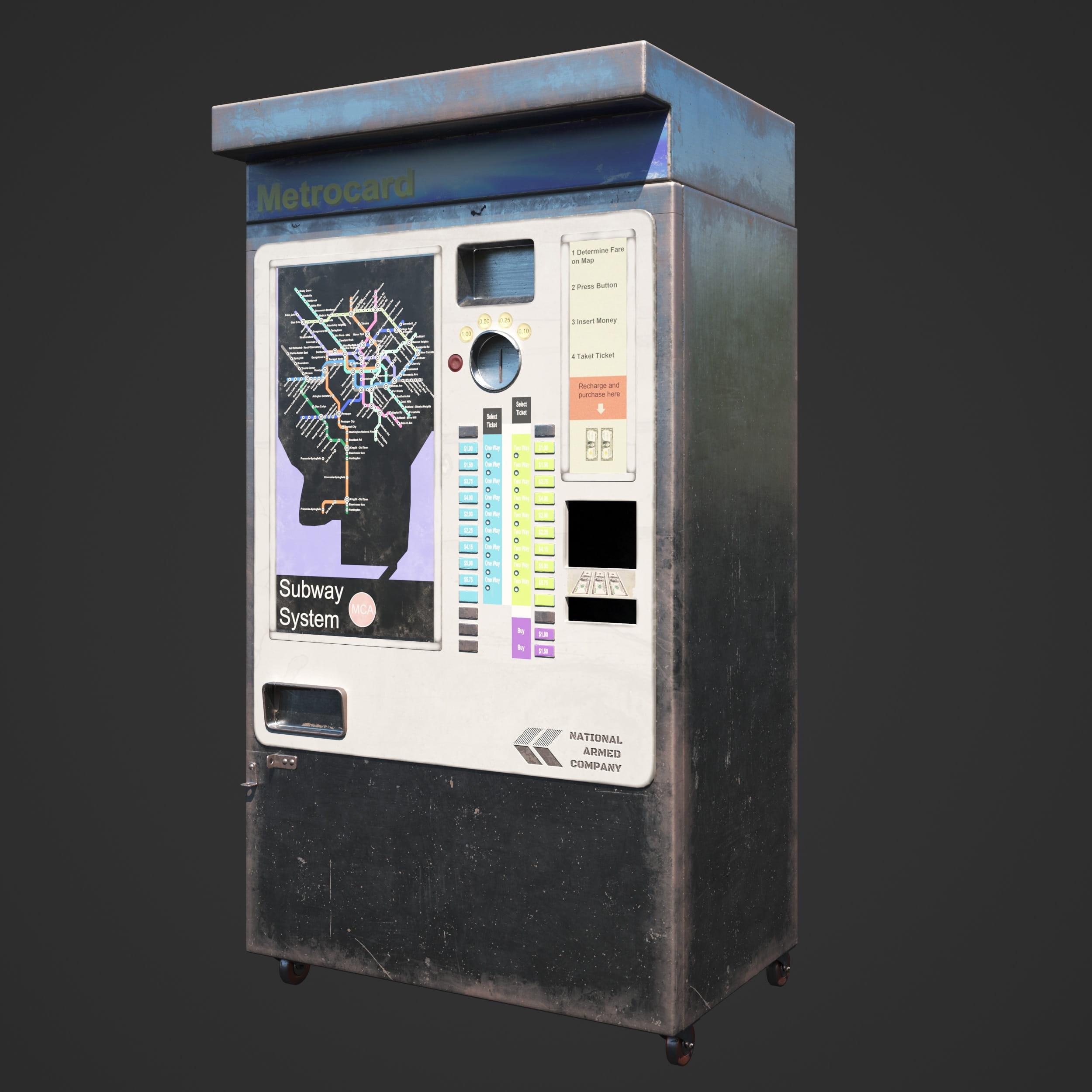 ticket machine 32 AM246