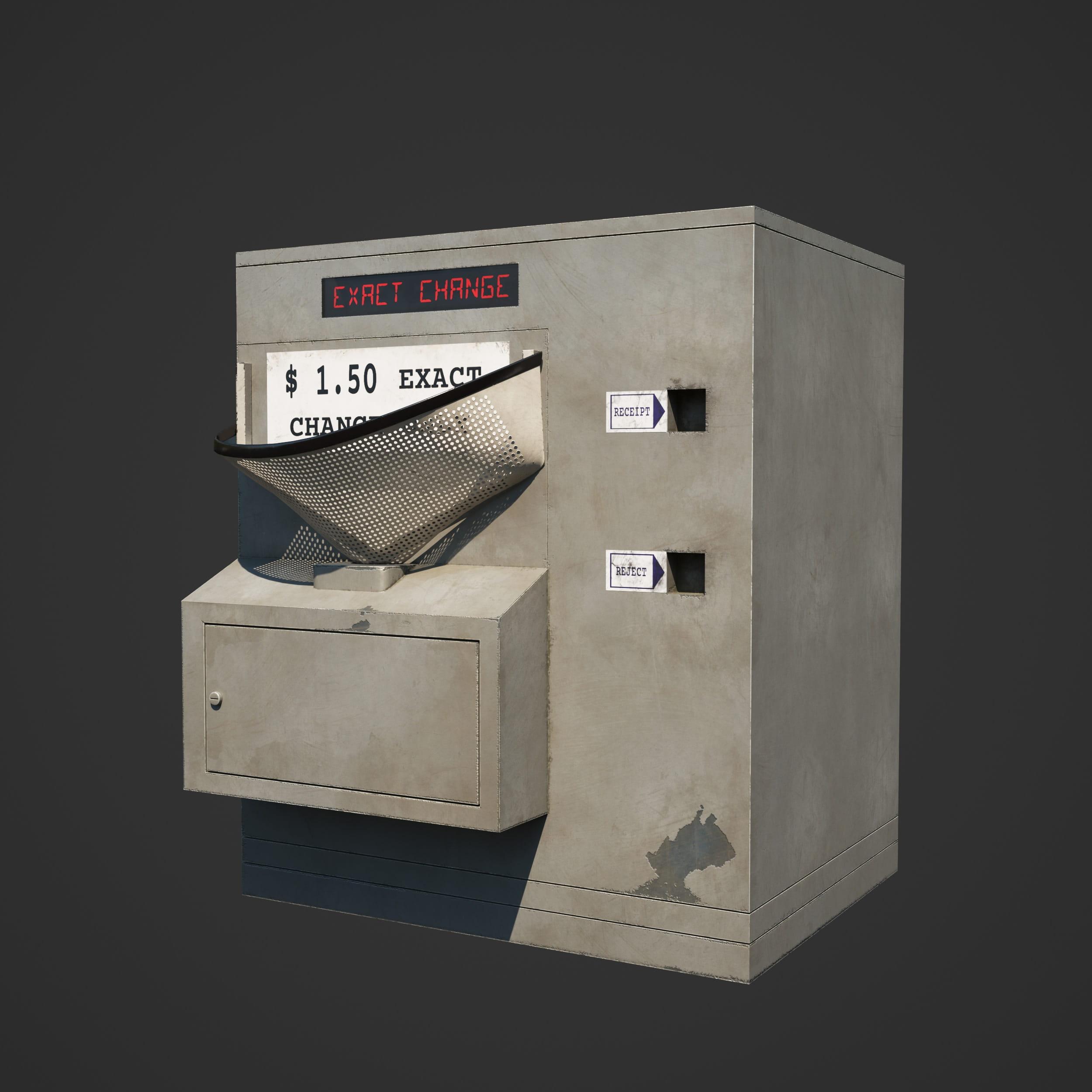 ticket machine 34 AM246