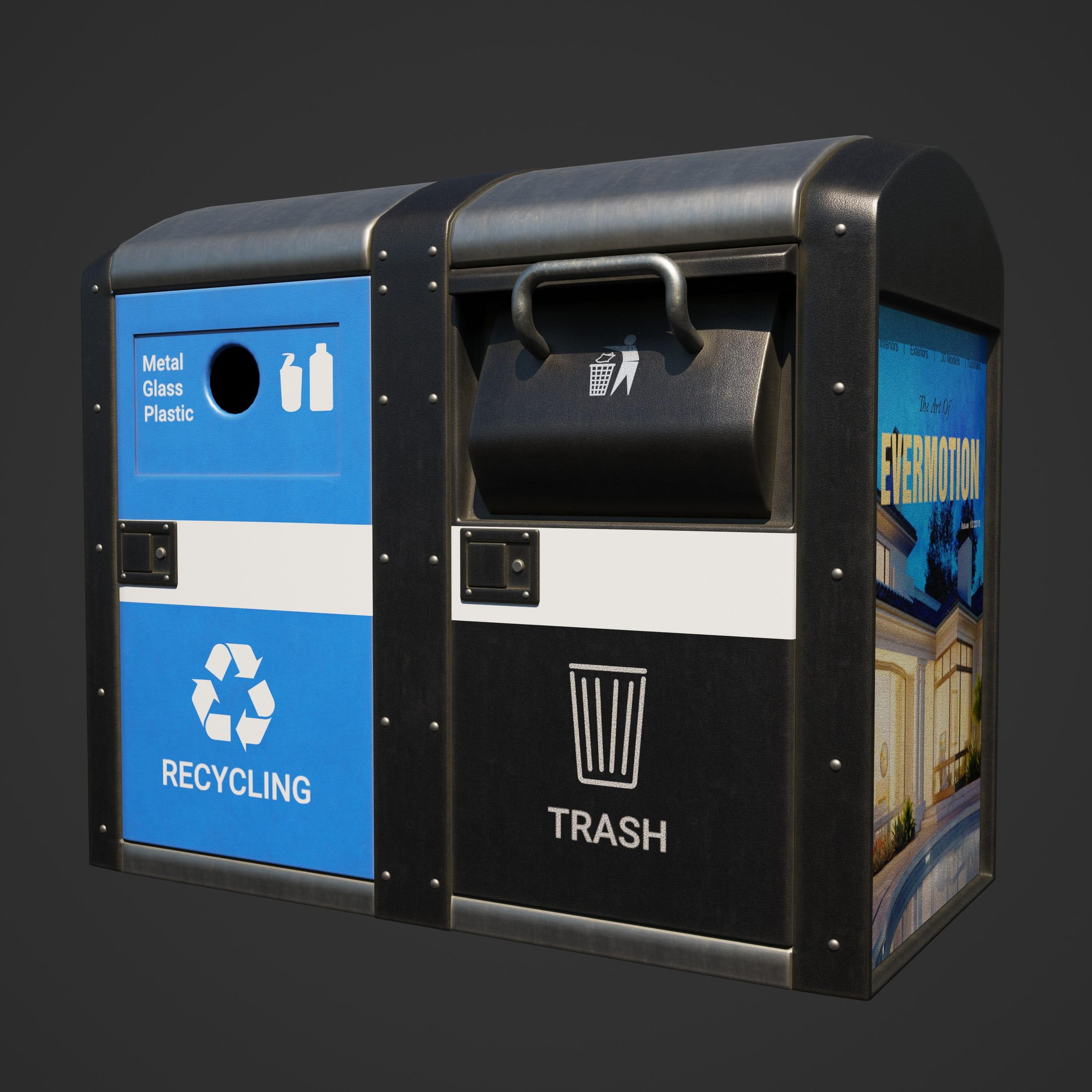 garbage bins 36 AM246